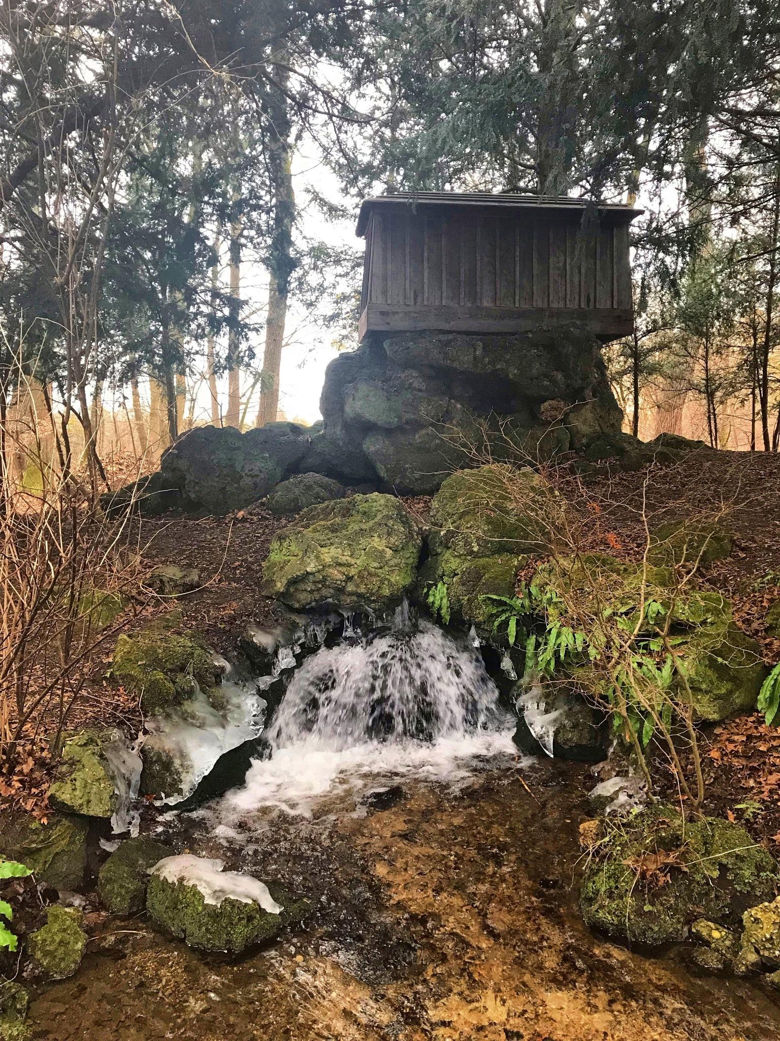 Little waterfall  by Aleksandra