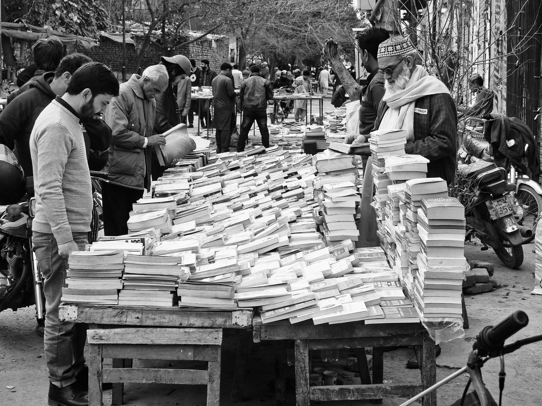 A Book Bazaar by Hasham Malik