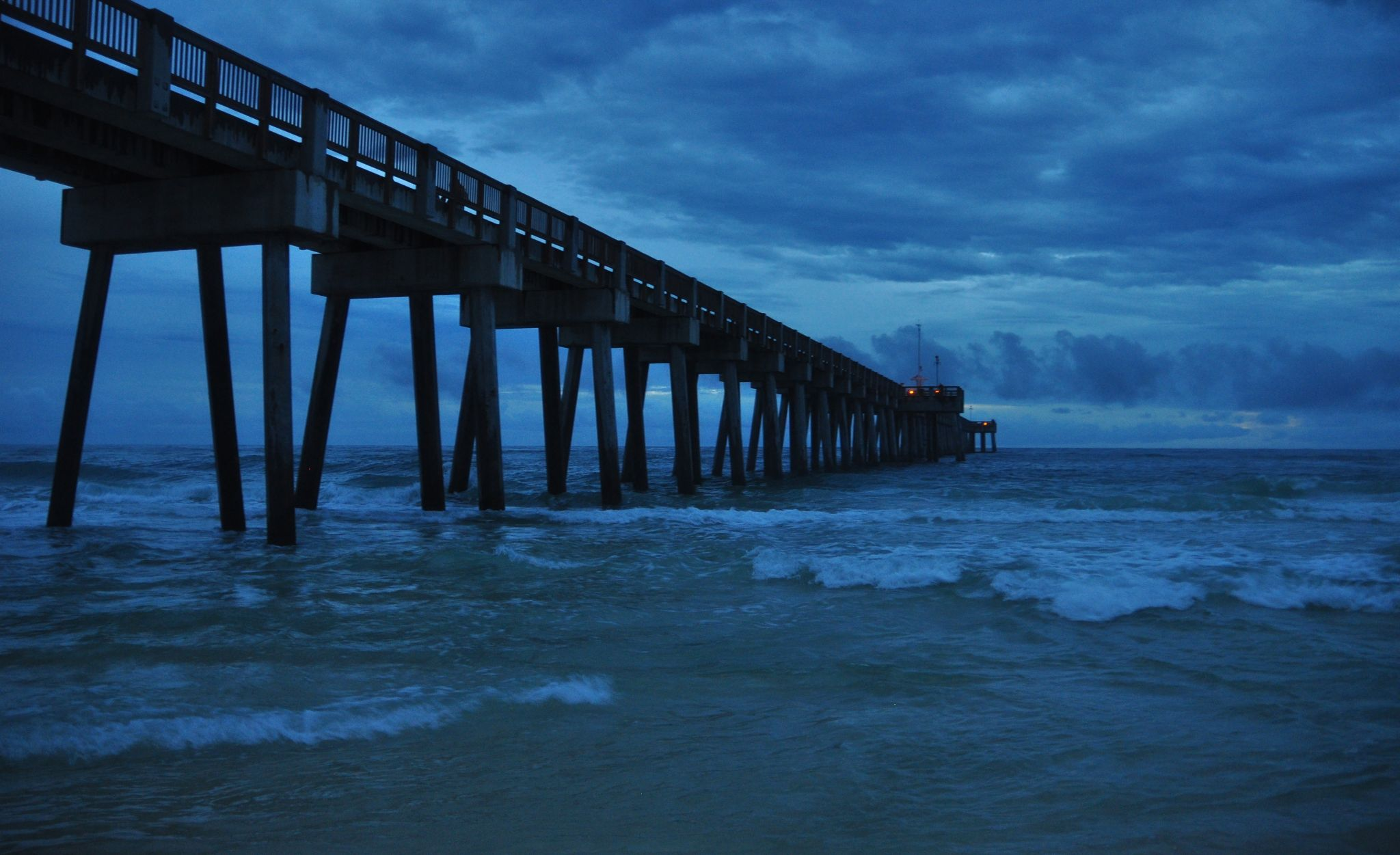 Under the Pier by Sandra Grimsley