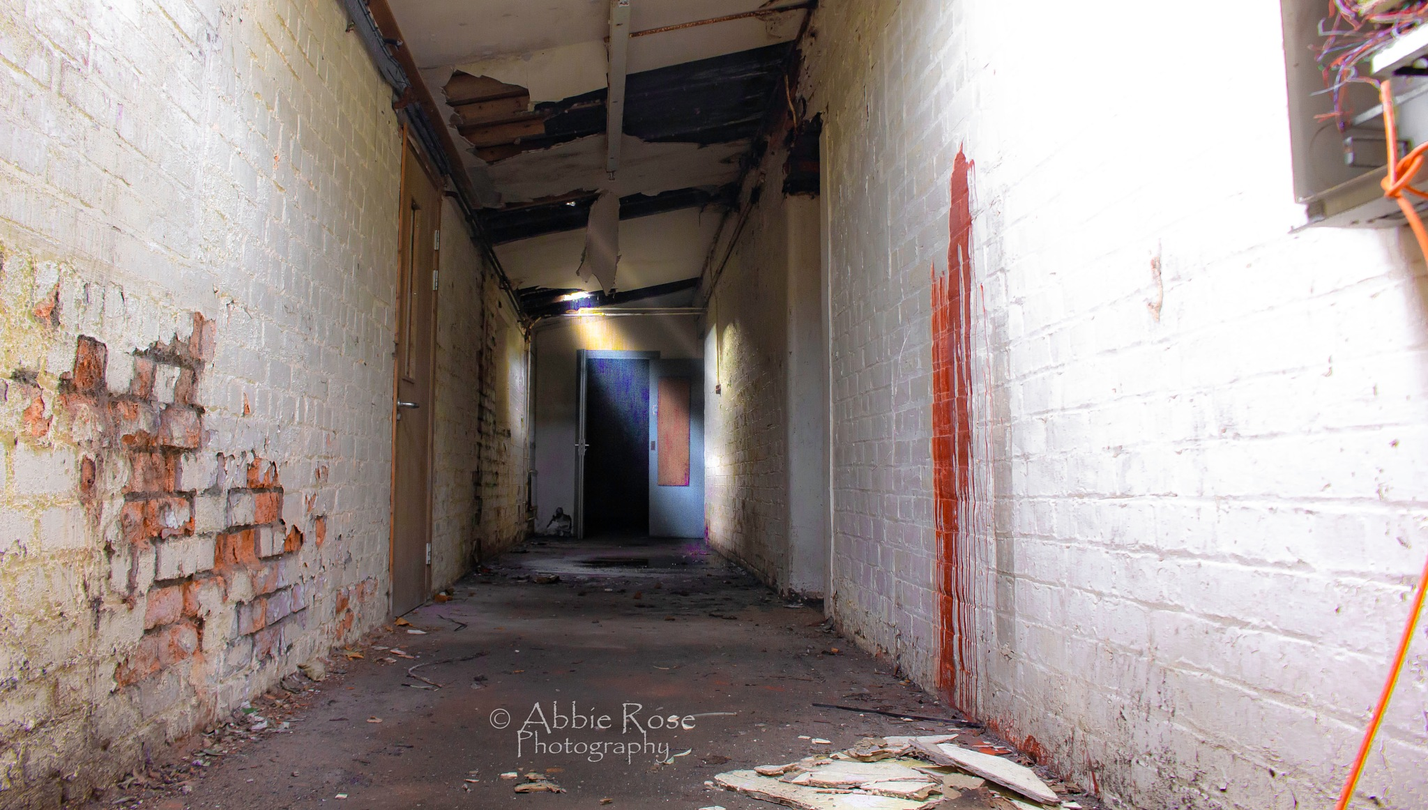Photo in Random #abandoned #architecture #victorian #hospital #asylum #urban #decay #photography #canon #solo #photoshop #edited #corridor #leading #lines