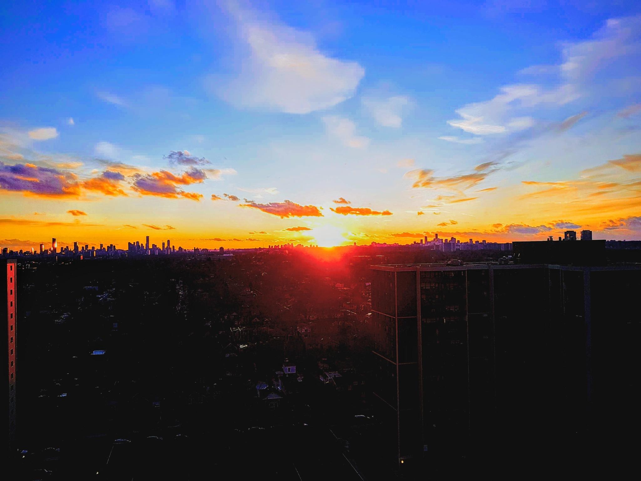 Toronto Sunset  by Kas Salazar