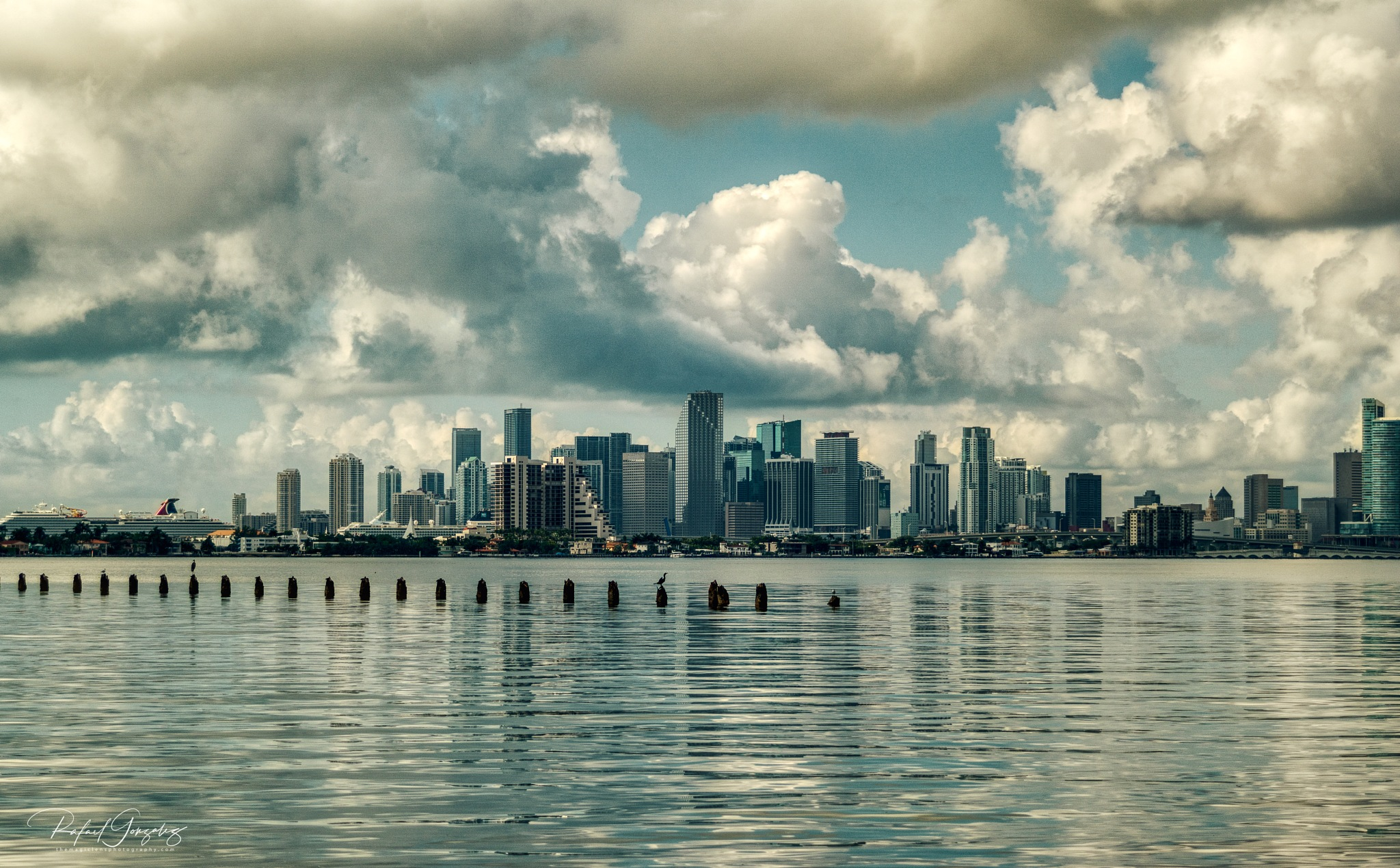 City of Miami, Morning View by themagiclensphotography