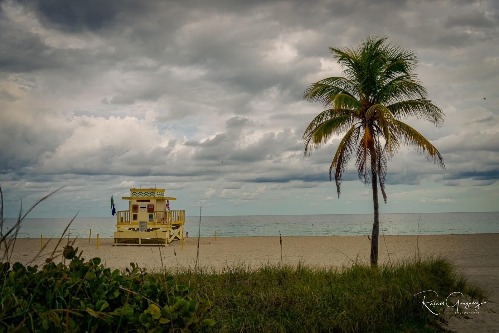 Cloudy Beach by themagiclensphotography