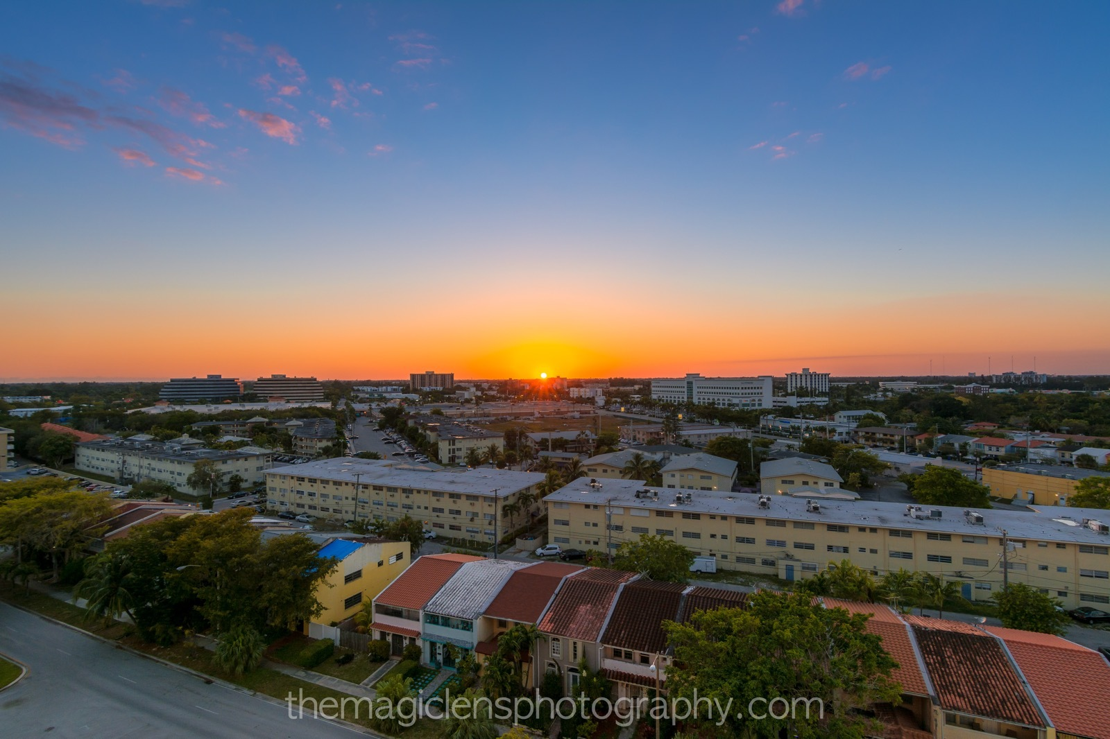 My Balcony Sunset Today by themagiclensphotography