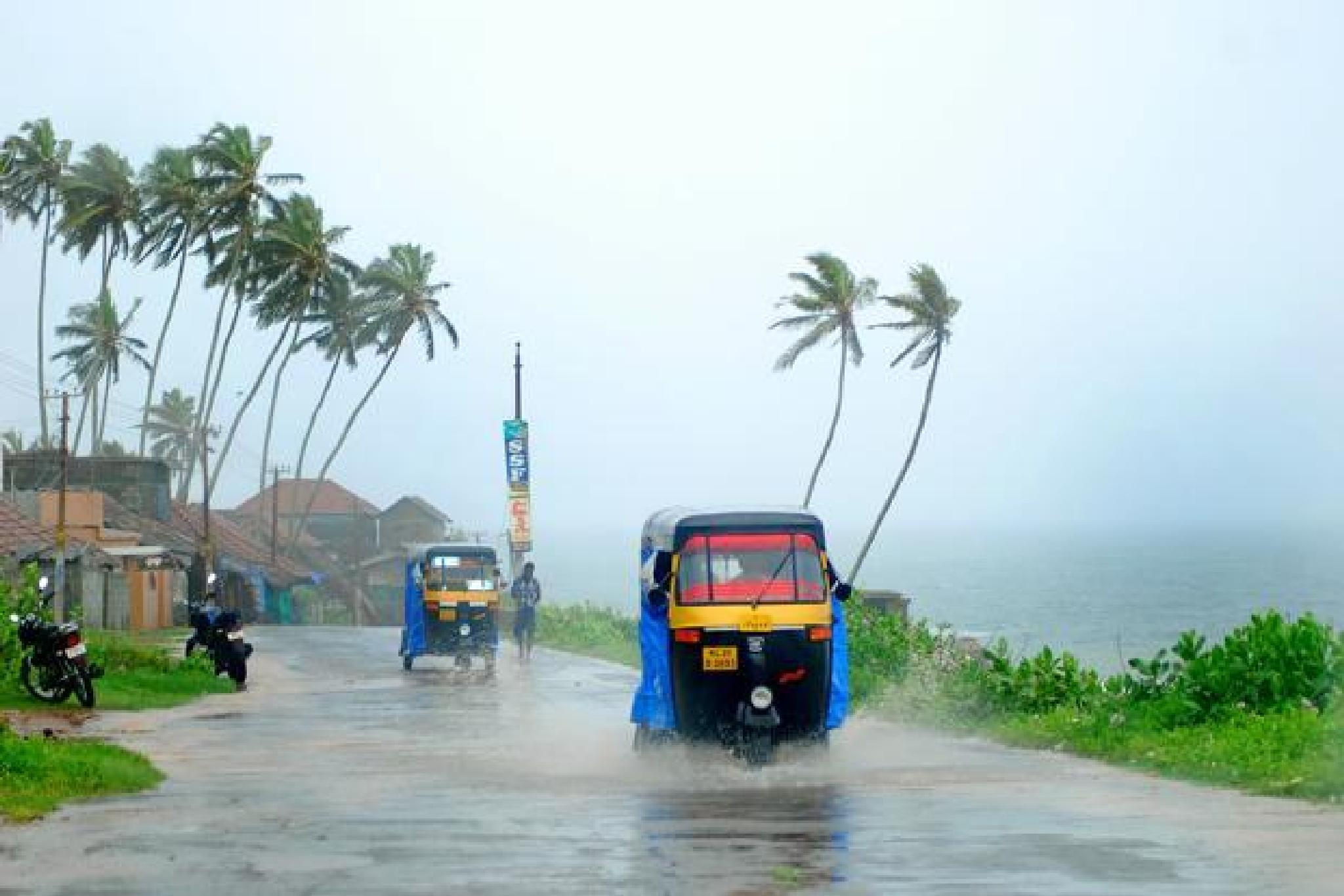 A rainy day in Kerala(India) by Jino John