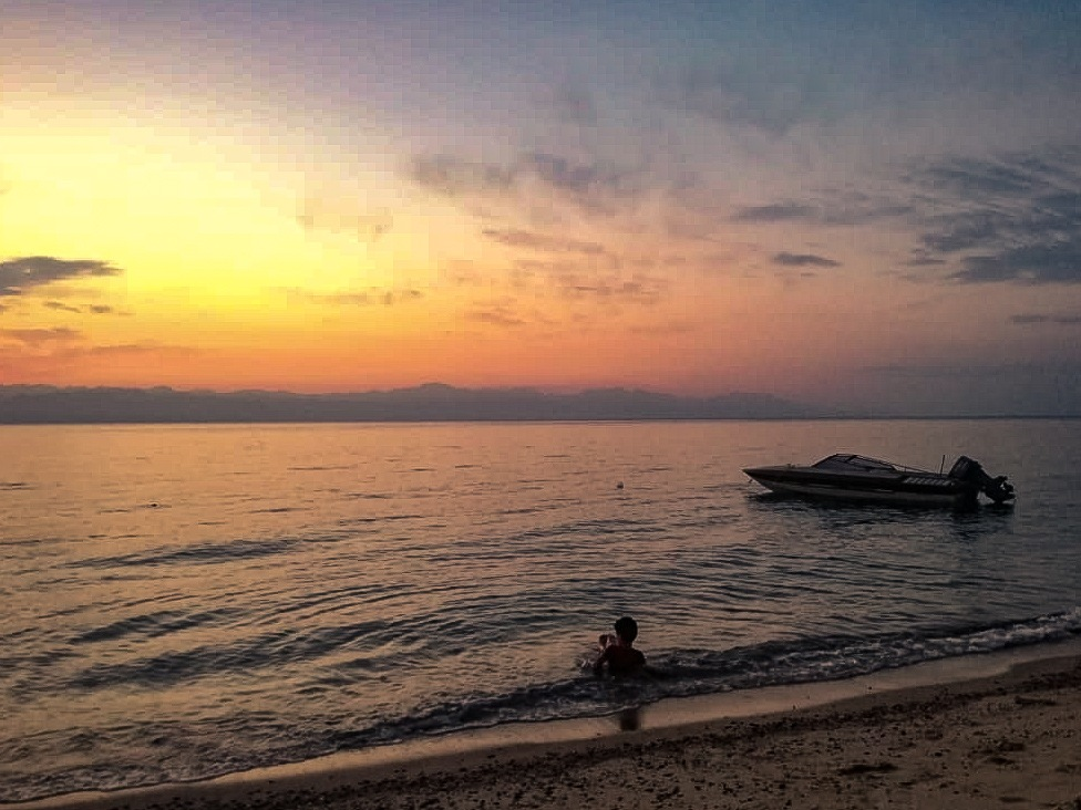 calm sunrise by Eman khameis