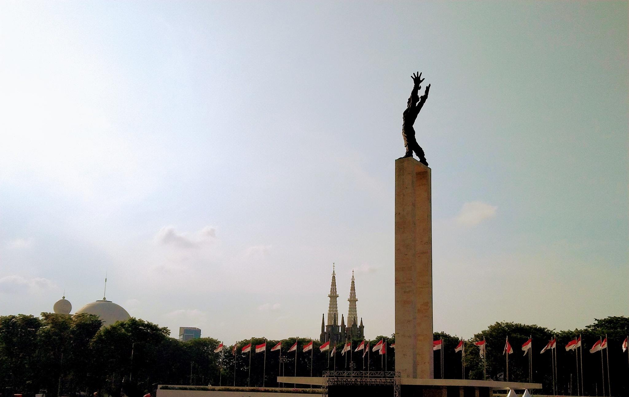 The Monument Of Irian Jaya Barat Freedom  by Jc_Aldi