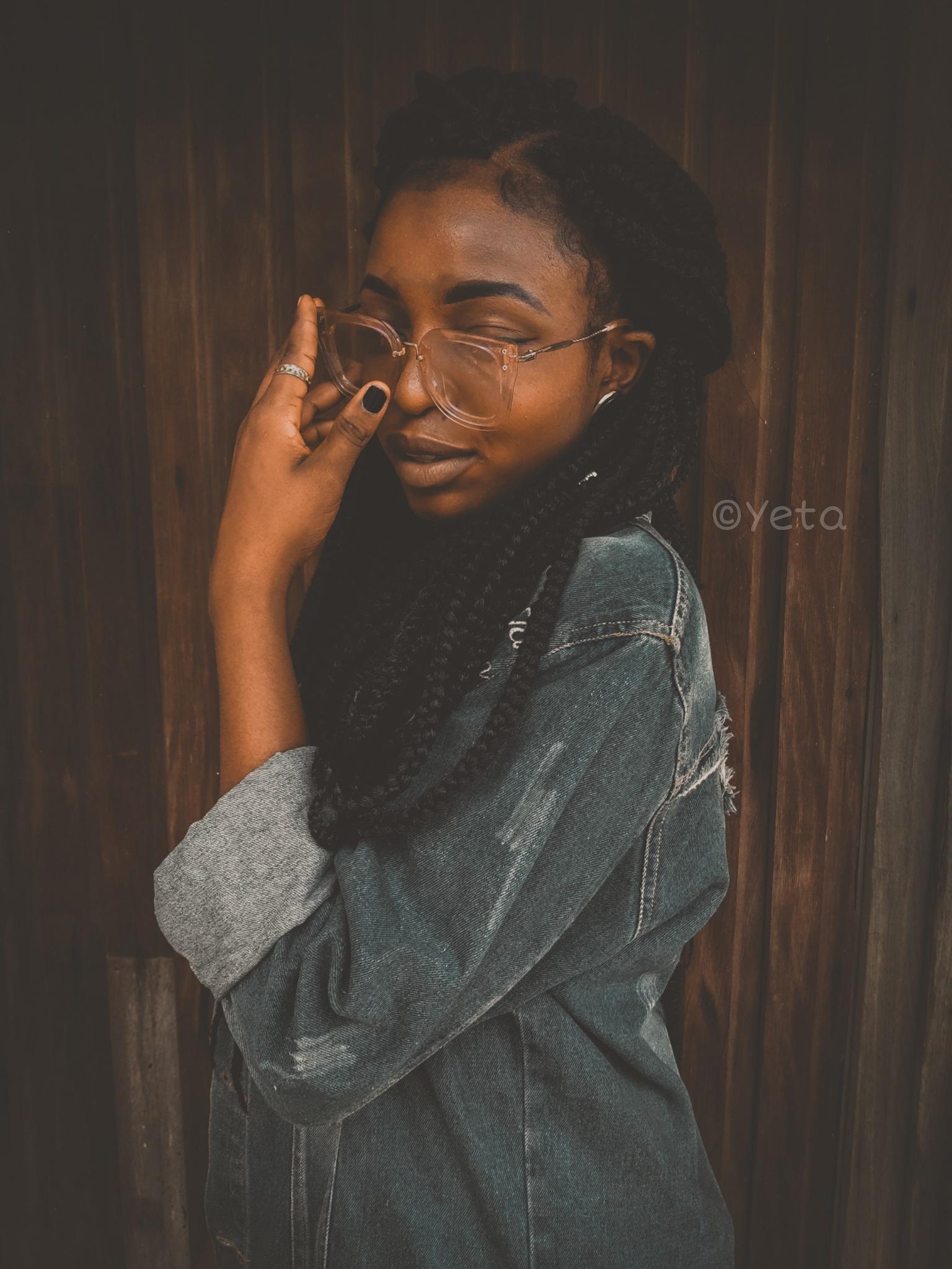 Portrait mode. by Precious Yeta
