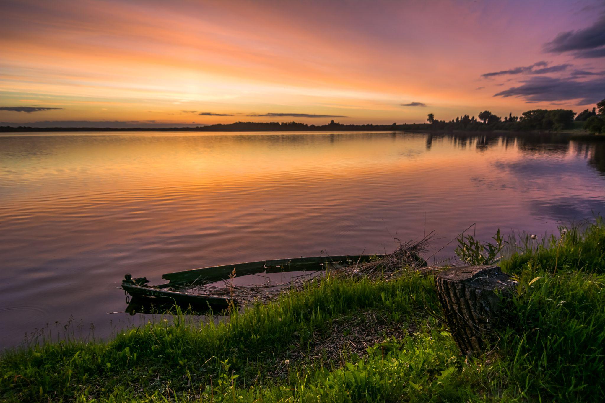 Sunset by Algirdas Motiejunas