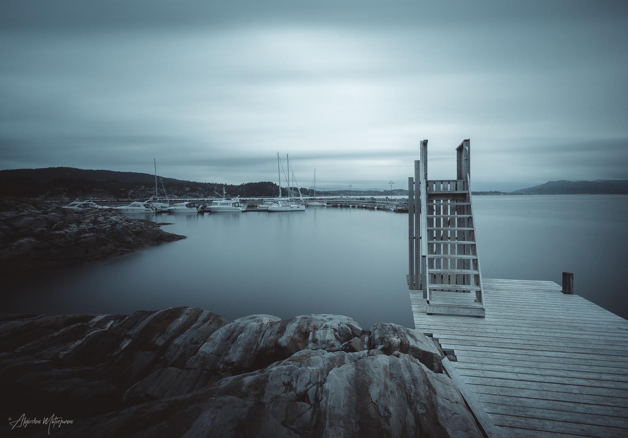 Austevoll Islands Norway by Algirdas Motiejunas