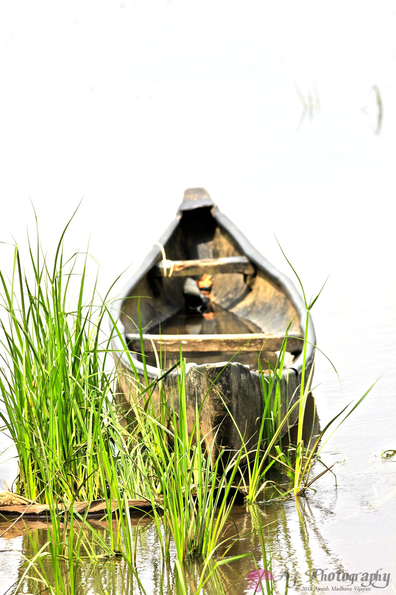 Lone Boat by SacredLove