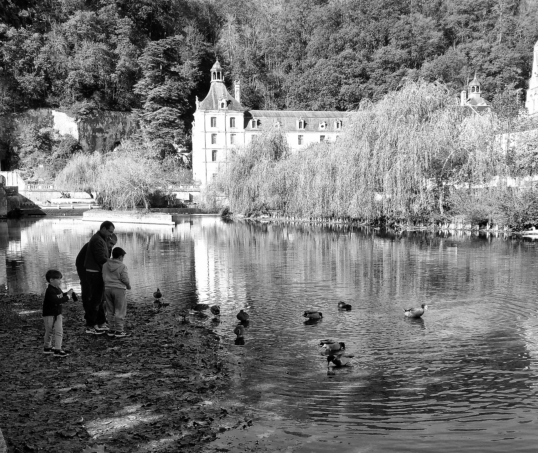 A morning at Brantôme  by Claudia Farolfi