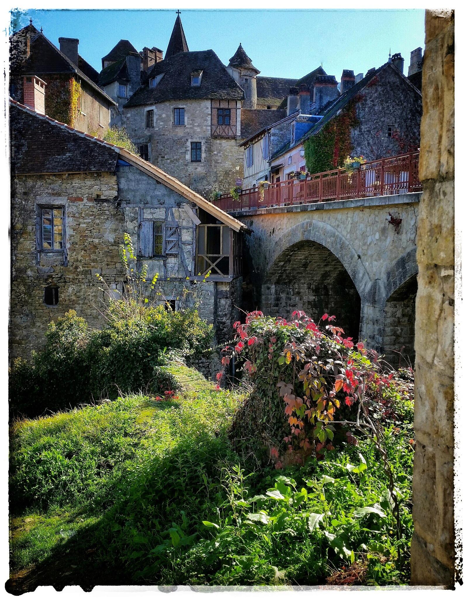 The Village of Carennac by Claudia Farolfi