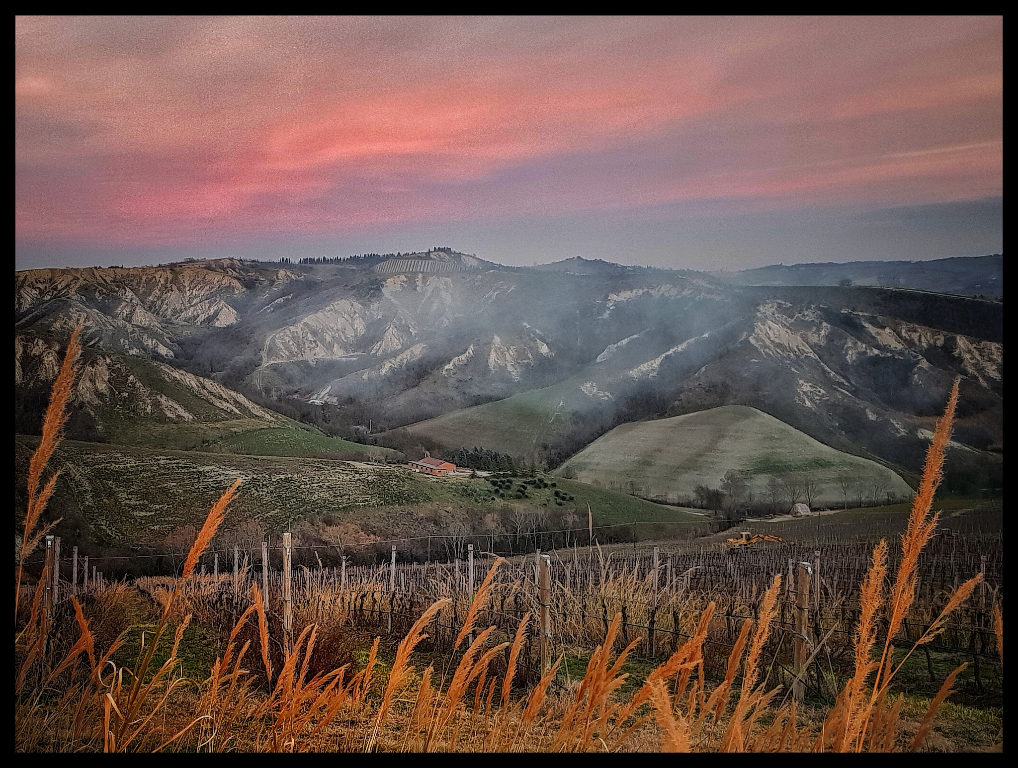 A landscape in the Appennines  by Claudia Farolfi
