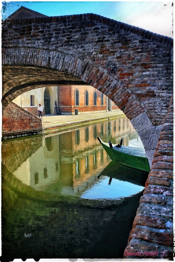 The view under a bridge by Claudia Farolfi