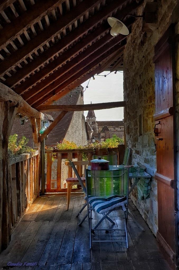 on the veranda  by Claudia Farolfi
