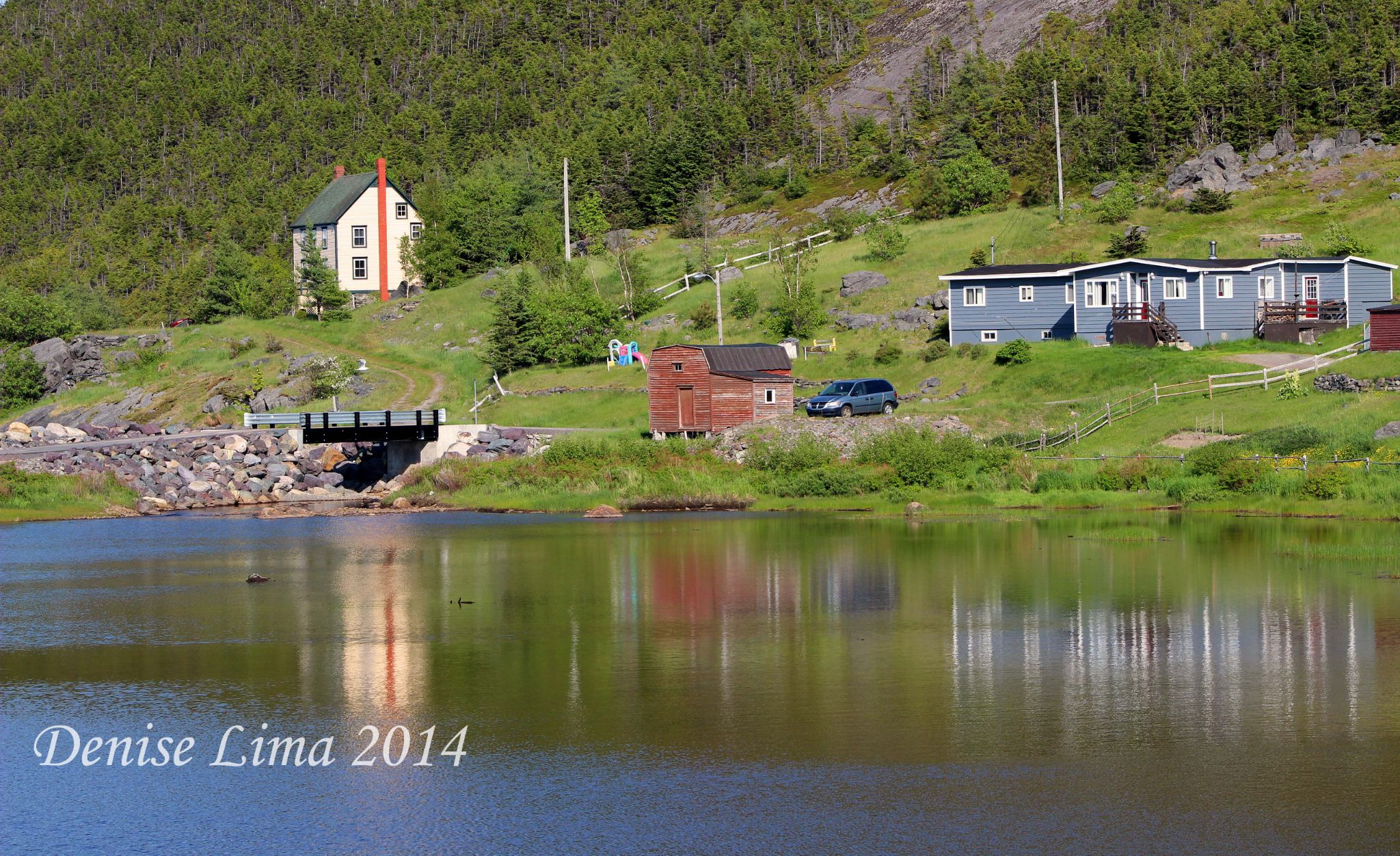 Refections of Newfoundland scenery by keoughdenise