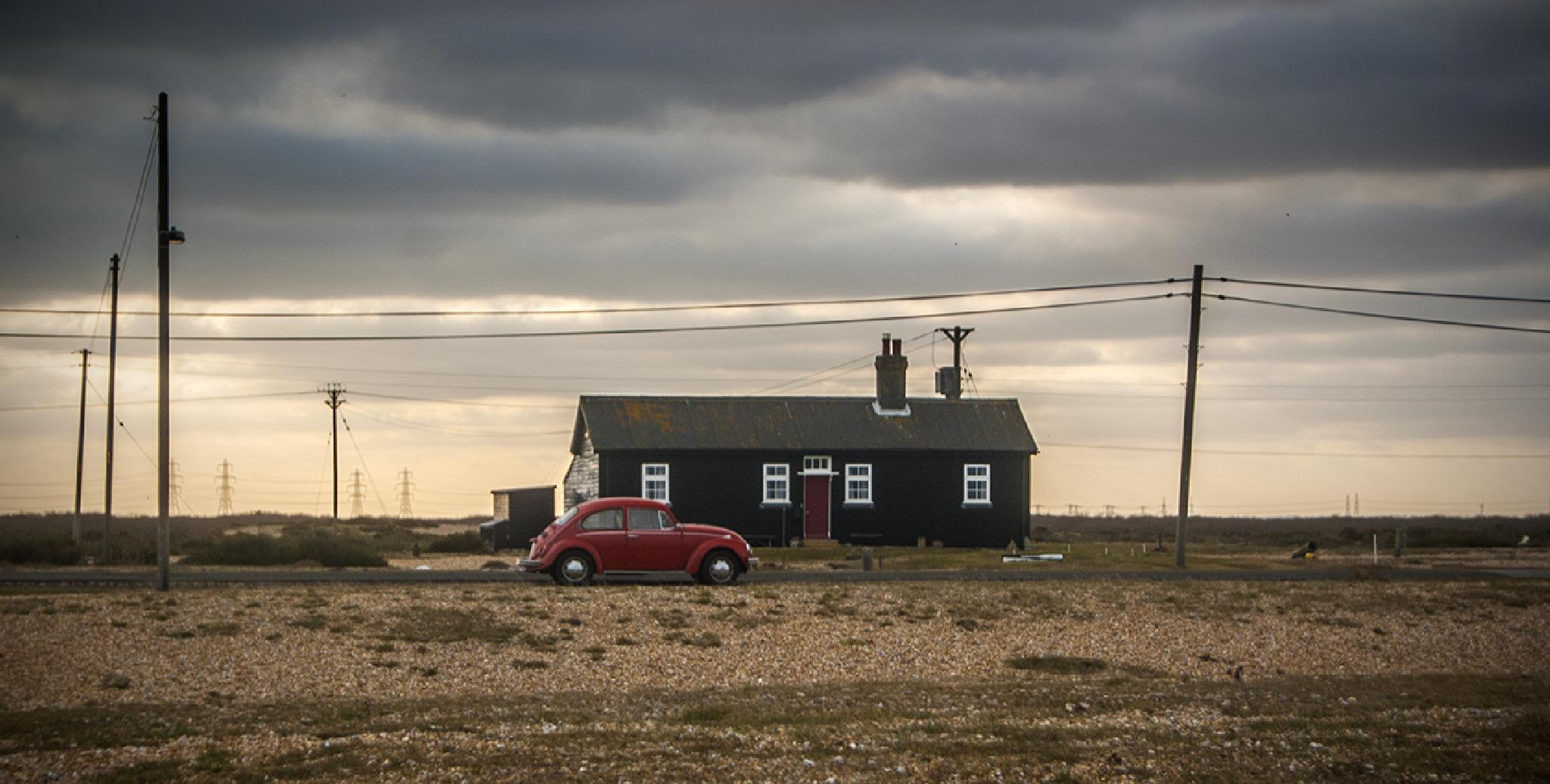 somewhere in Dungeness  by michalbakala