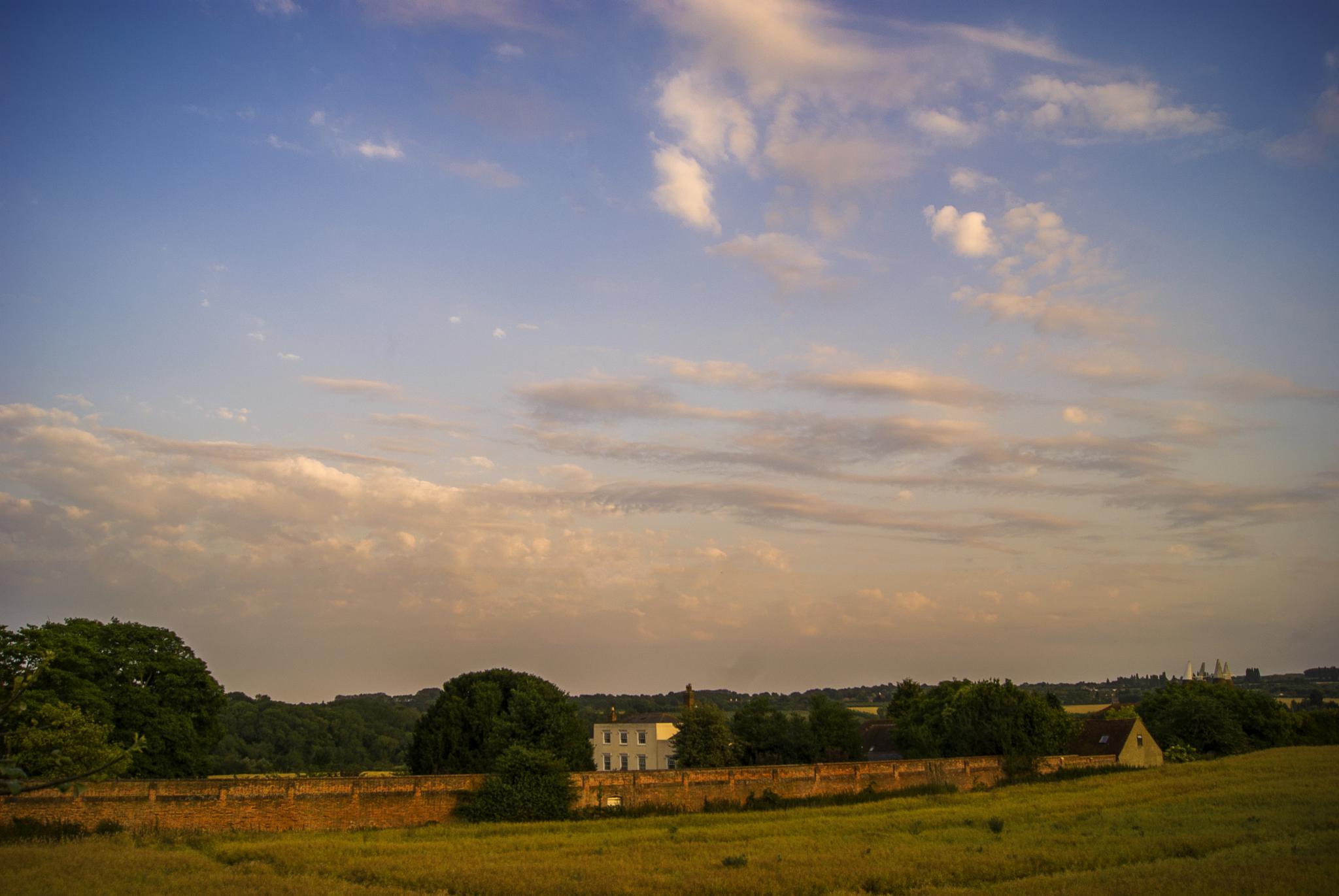 Photo in Landscape #maidstone #barming #field