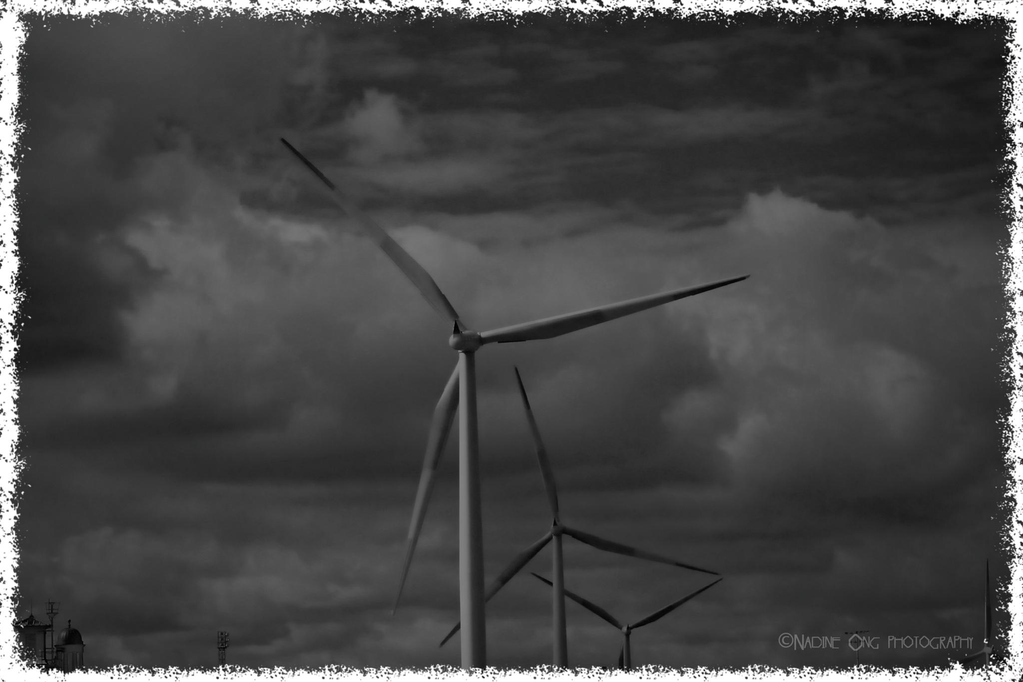 Wind Turbine - Tilbury by Nadine Ong