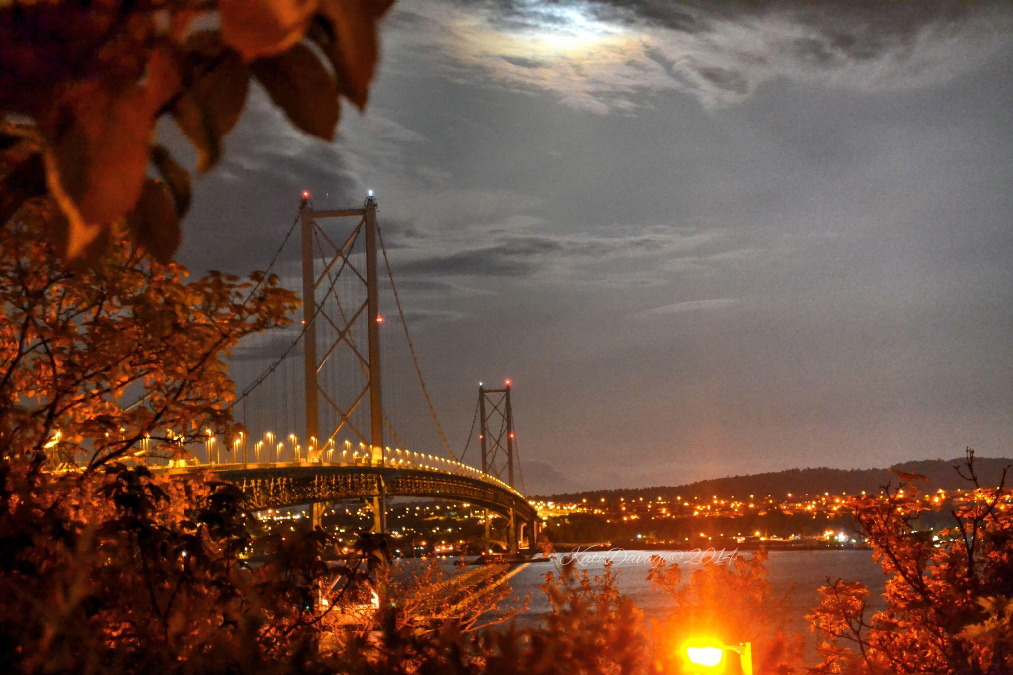 Forth Road Bridge by Kate L Ralah