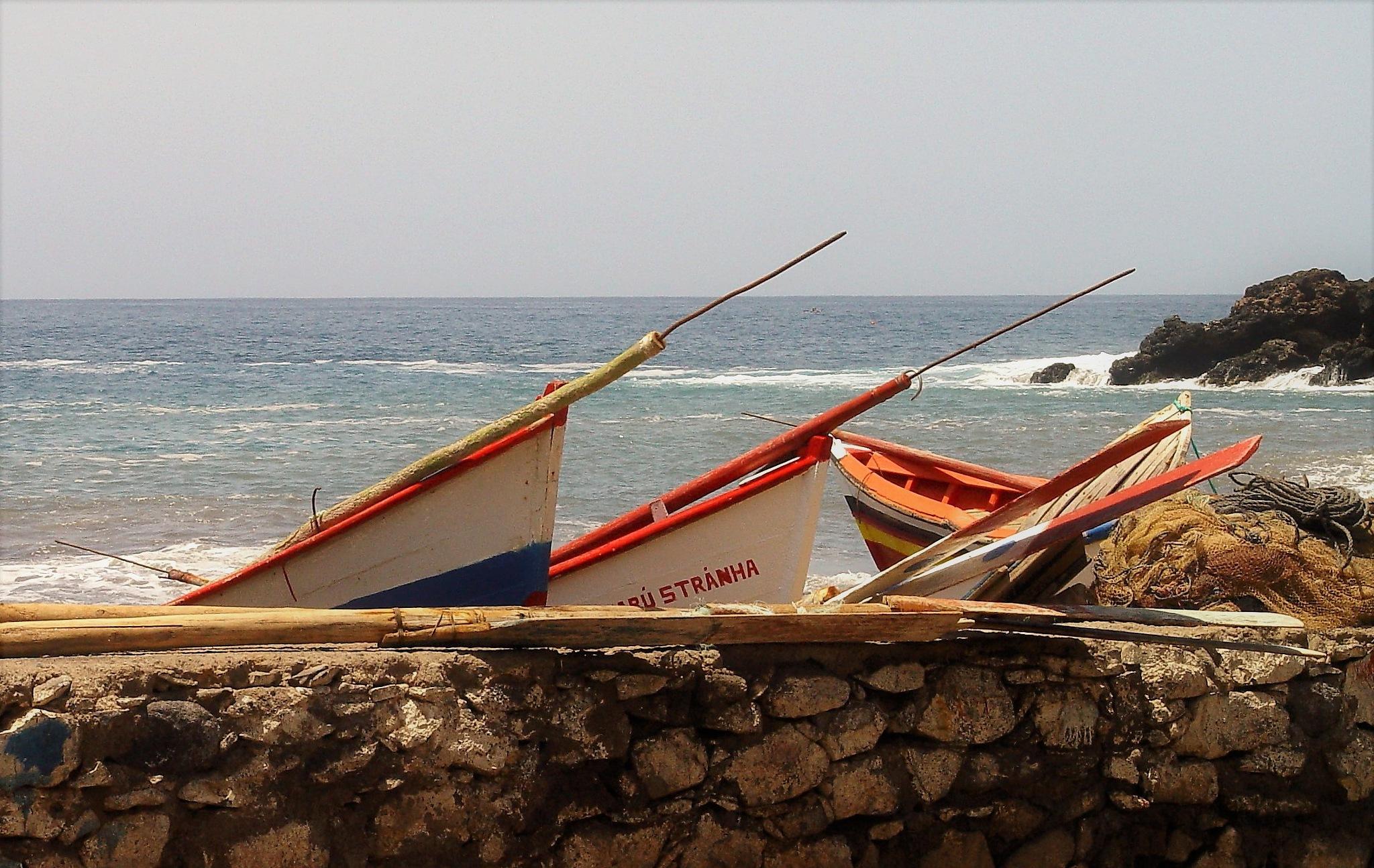 Boat by Jean François Ollivier