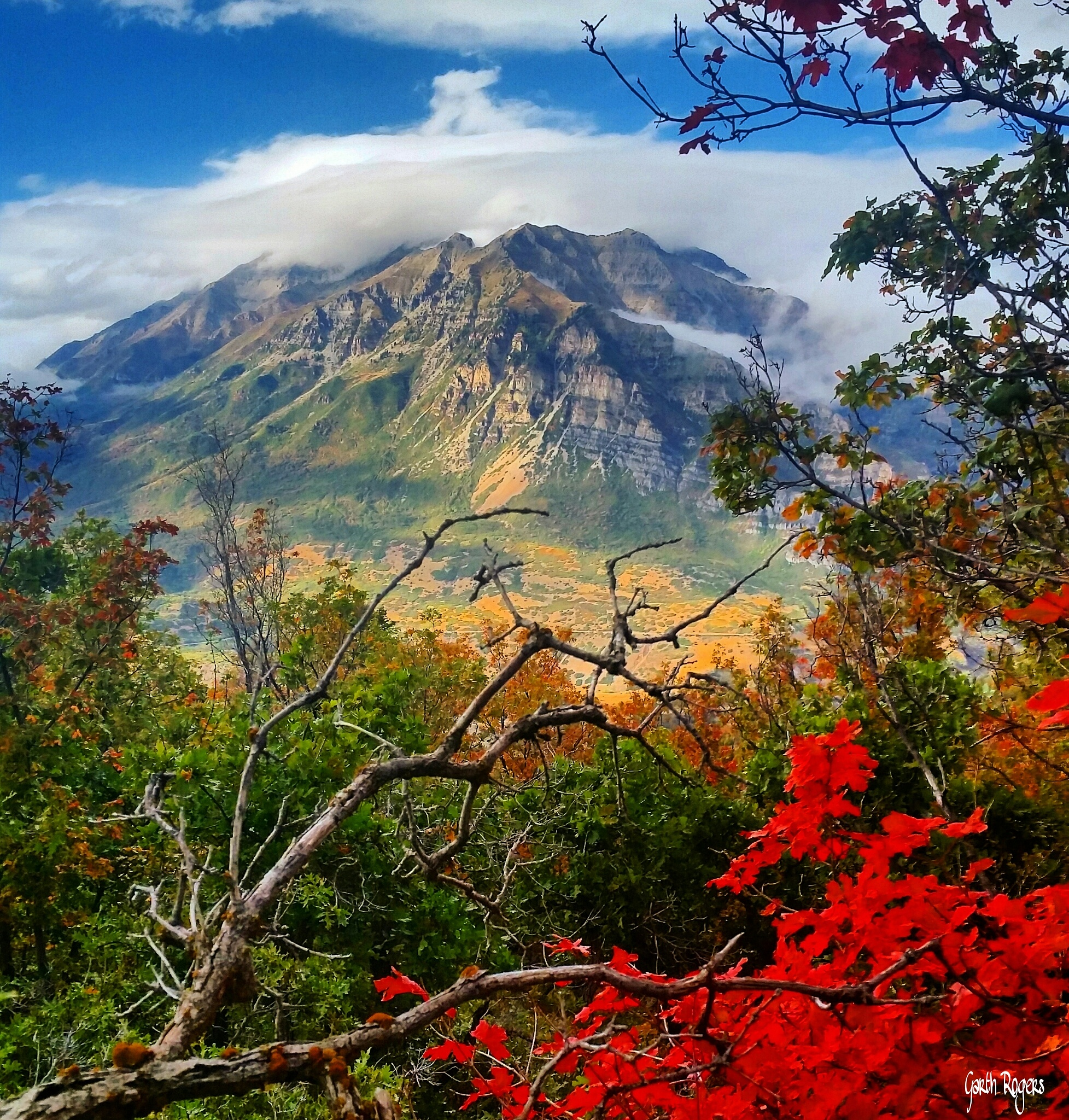 Mount Timpanogos by Garth Rogers