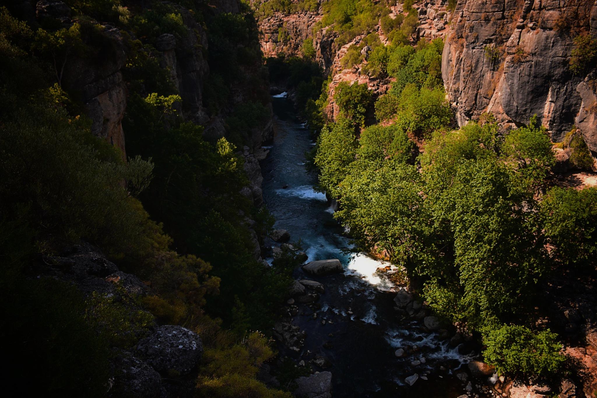 bridge Canyon by Gani Terkanlıoğlu