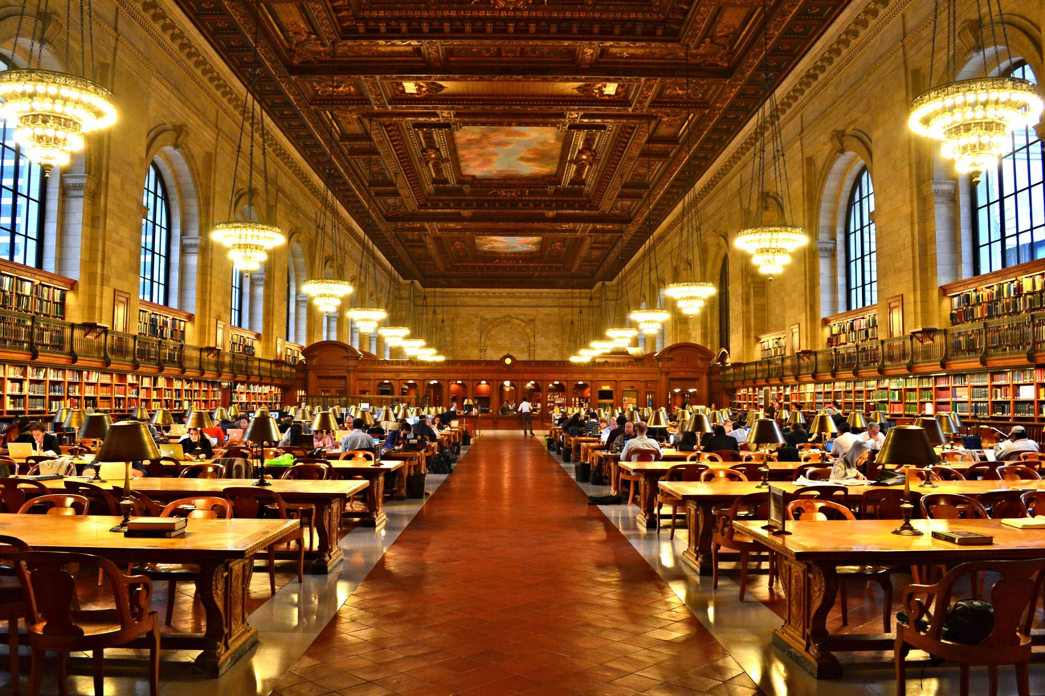 The New York Public Library by Frederico Domondon