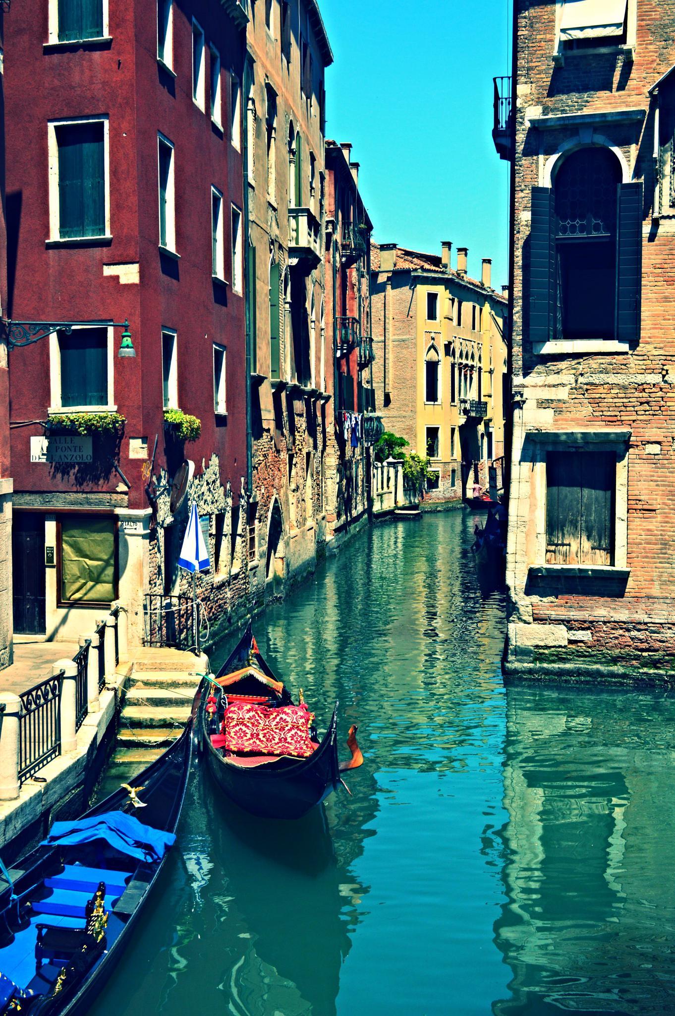 Venice, Italy by Frederico Domondon