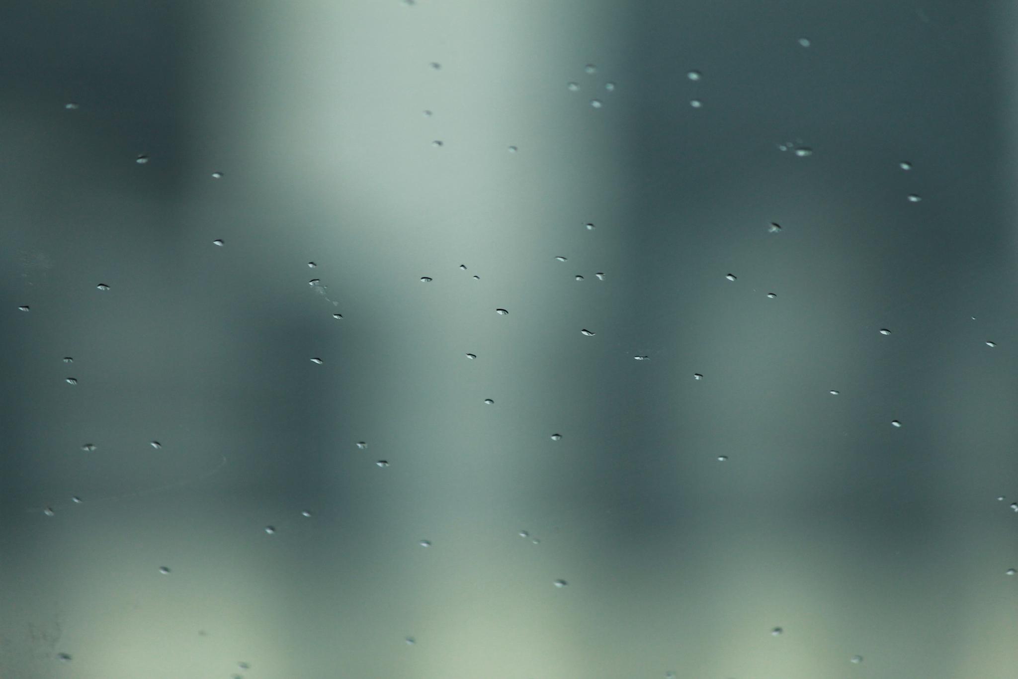 Photo in Still Life #rain #micro #glass #droplet