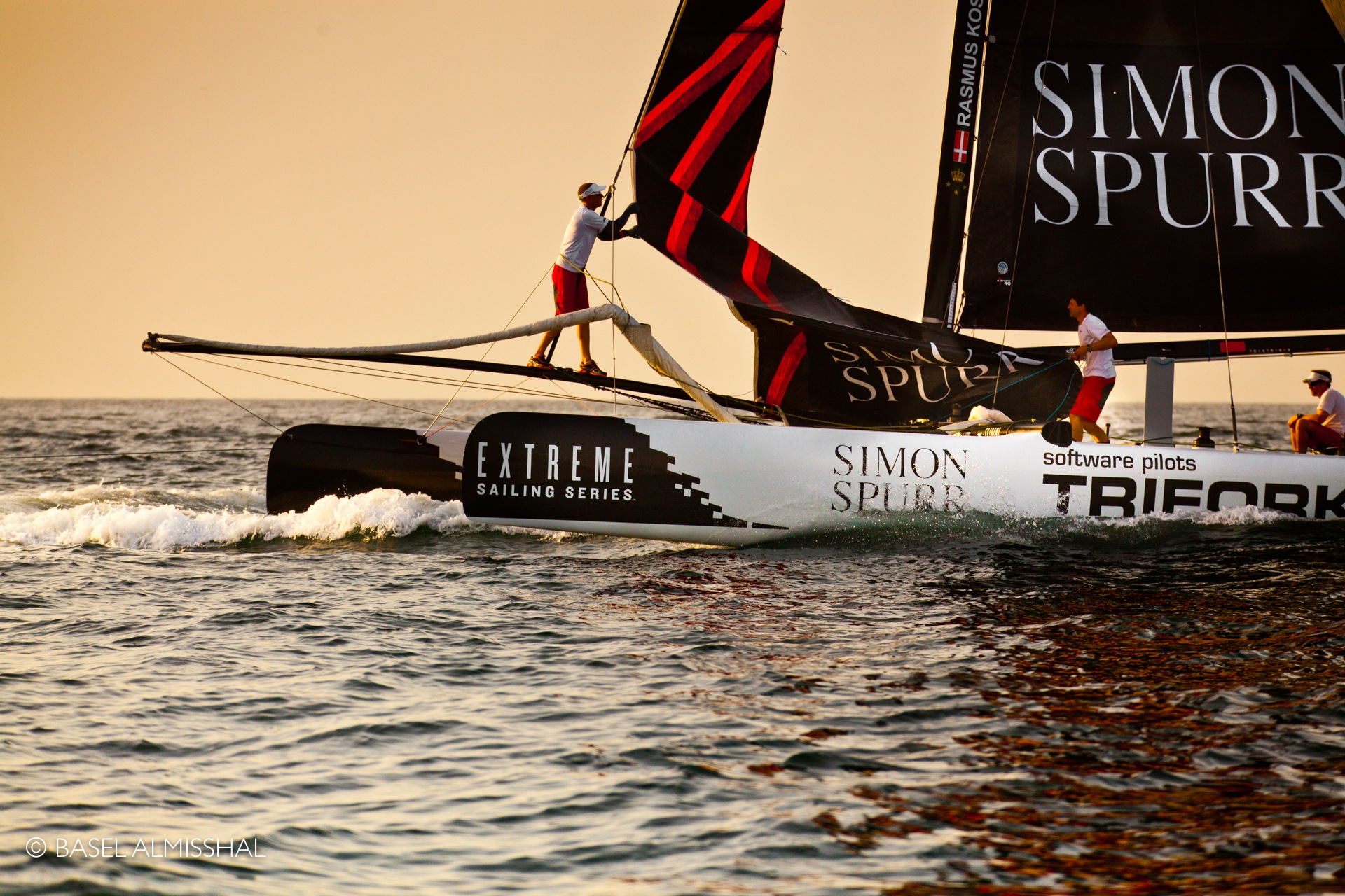 Extreme Sailing by Basel Almisshal