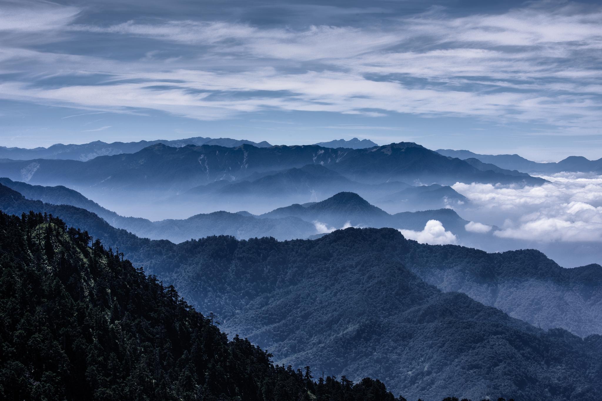 Hehuan Mountain by pslee