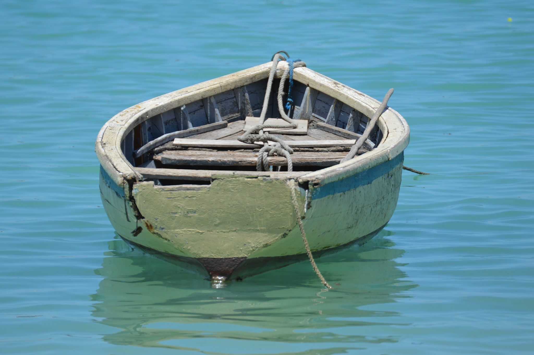 Boat (with blue) by Philippe Maseres