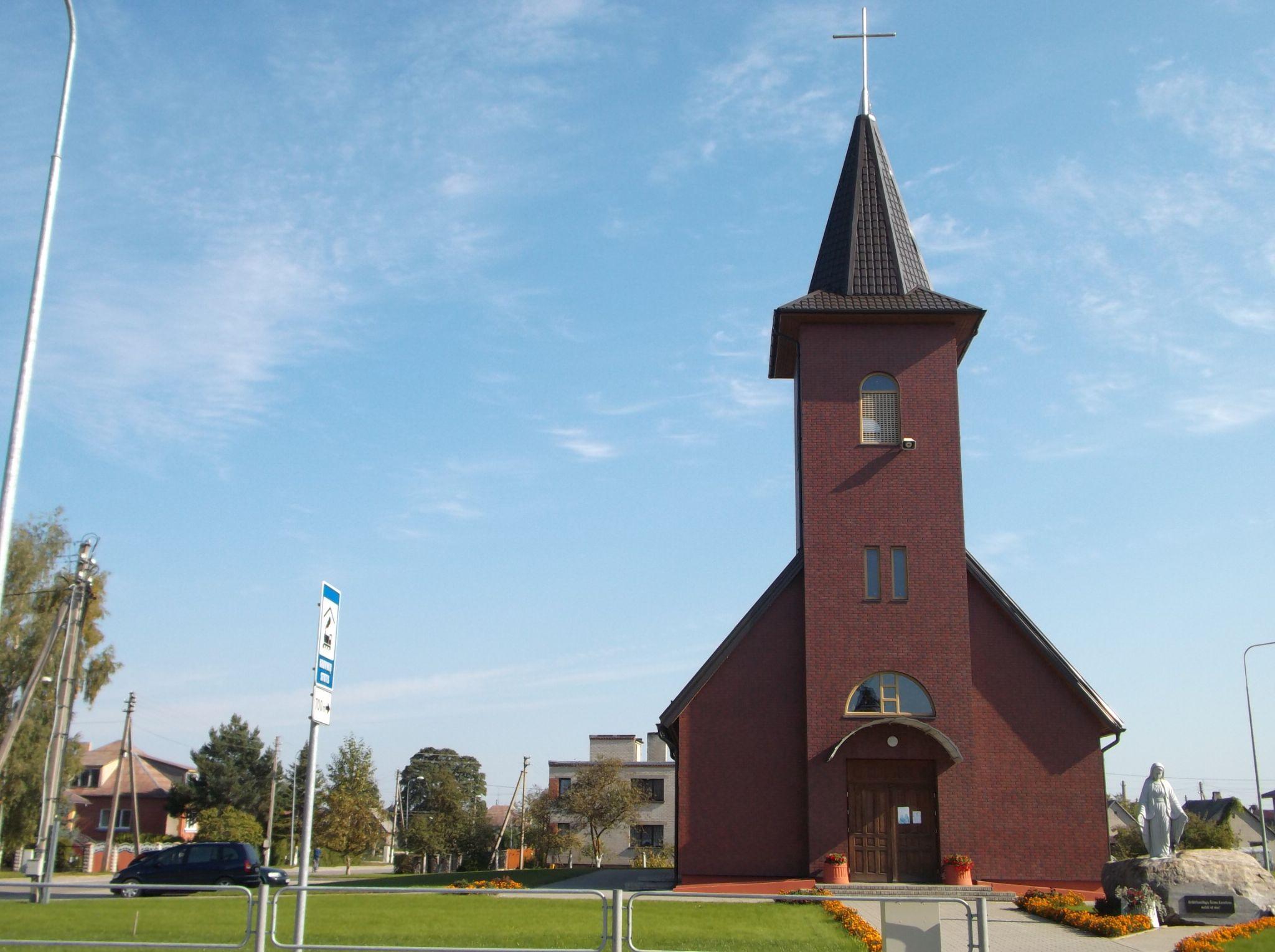 Town church. by Zita Užkuraitienė
