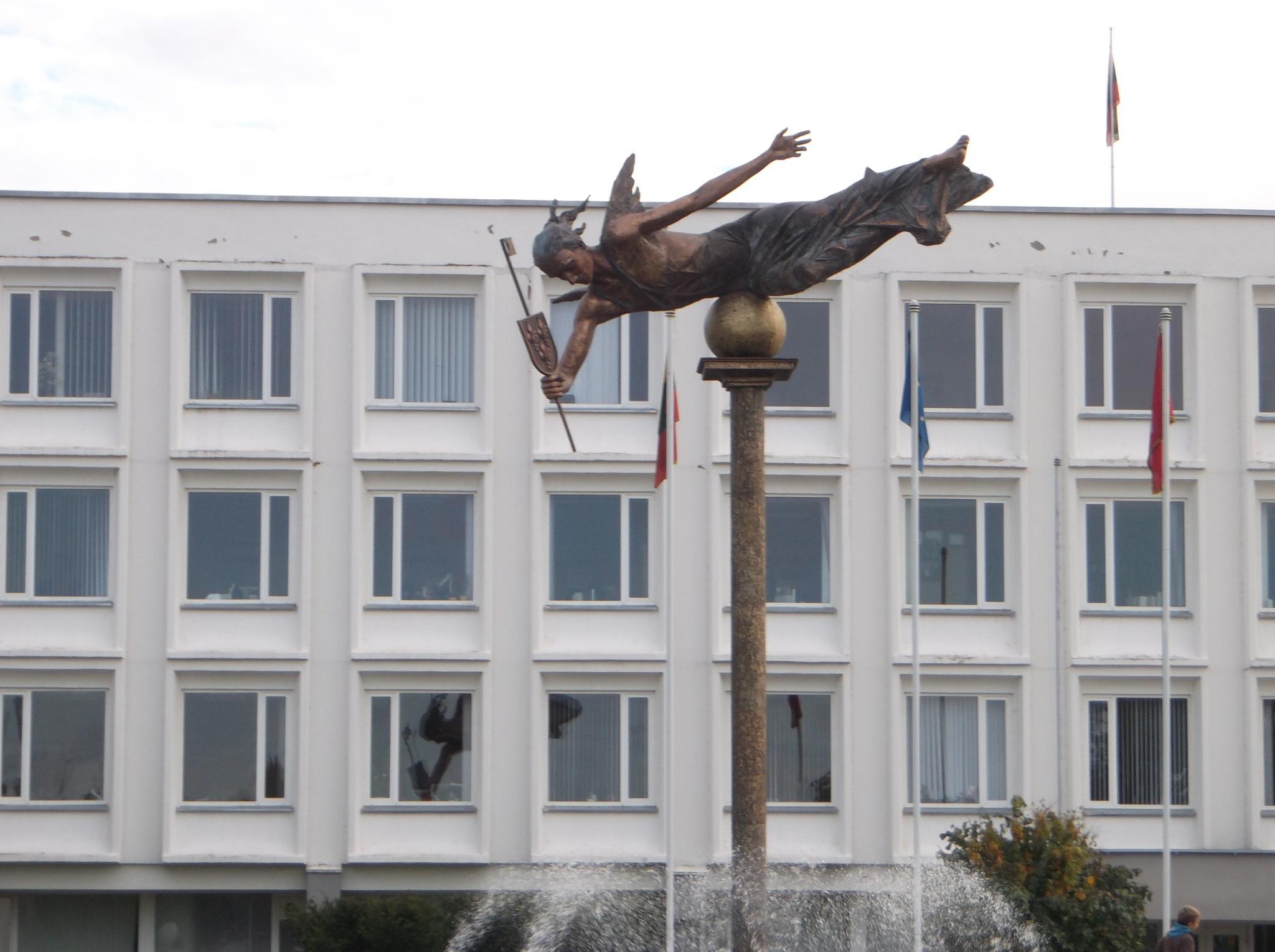 Symbol of the city. by Zita Užkuraitienė