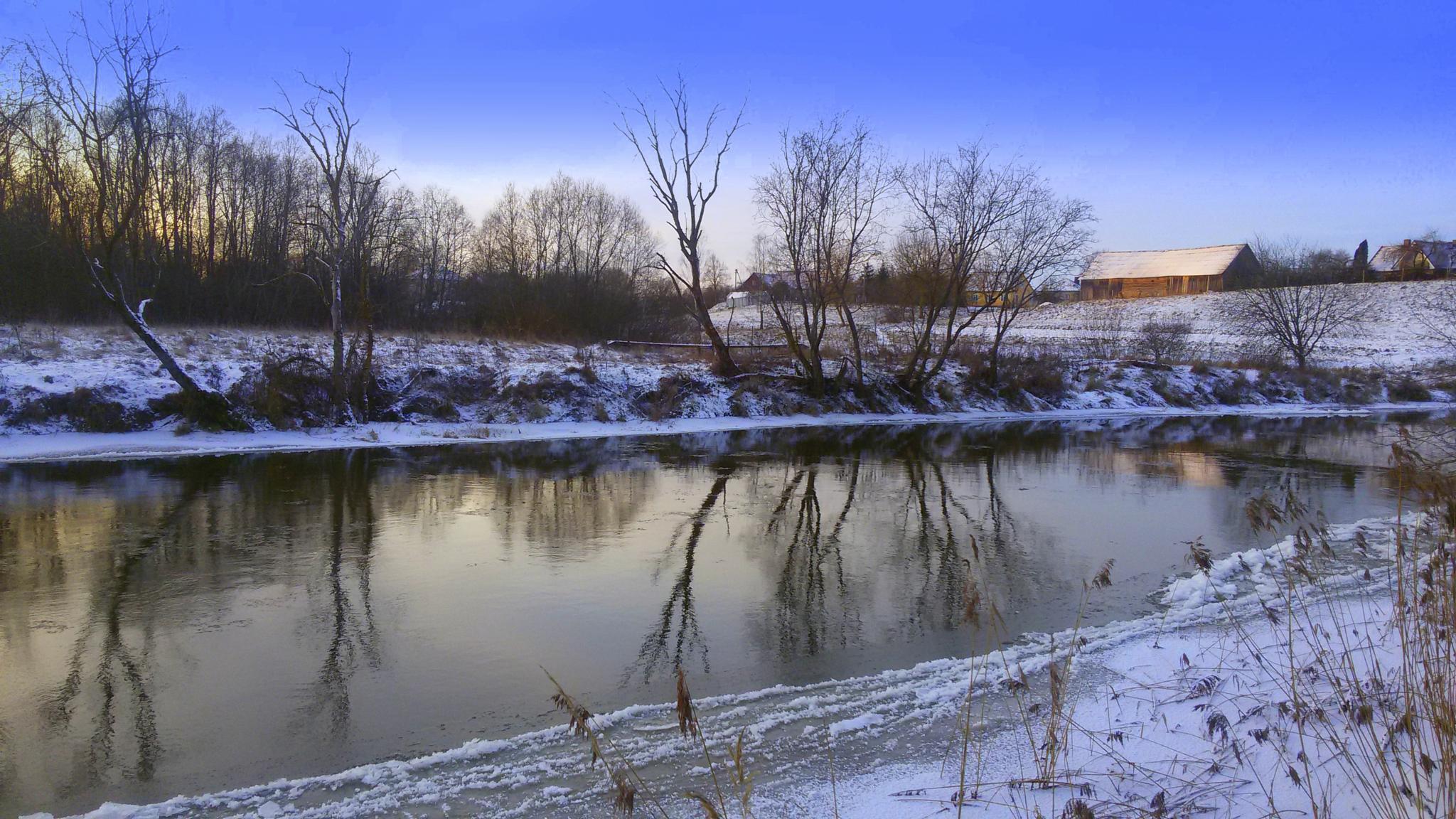 By the river by Zita Užkuraitienė