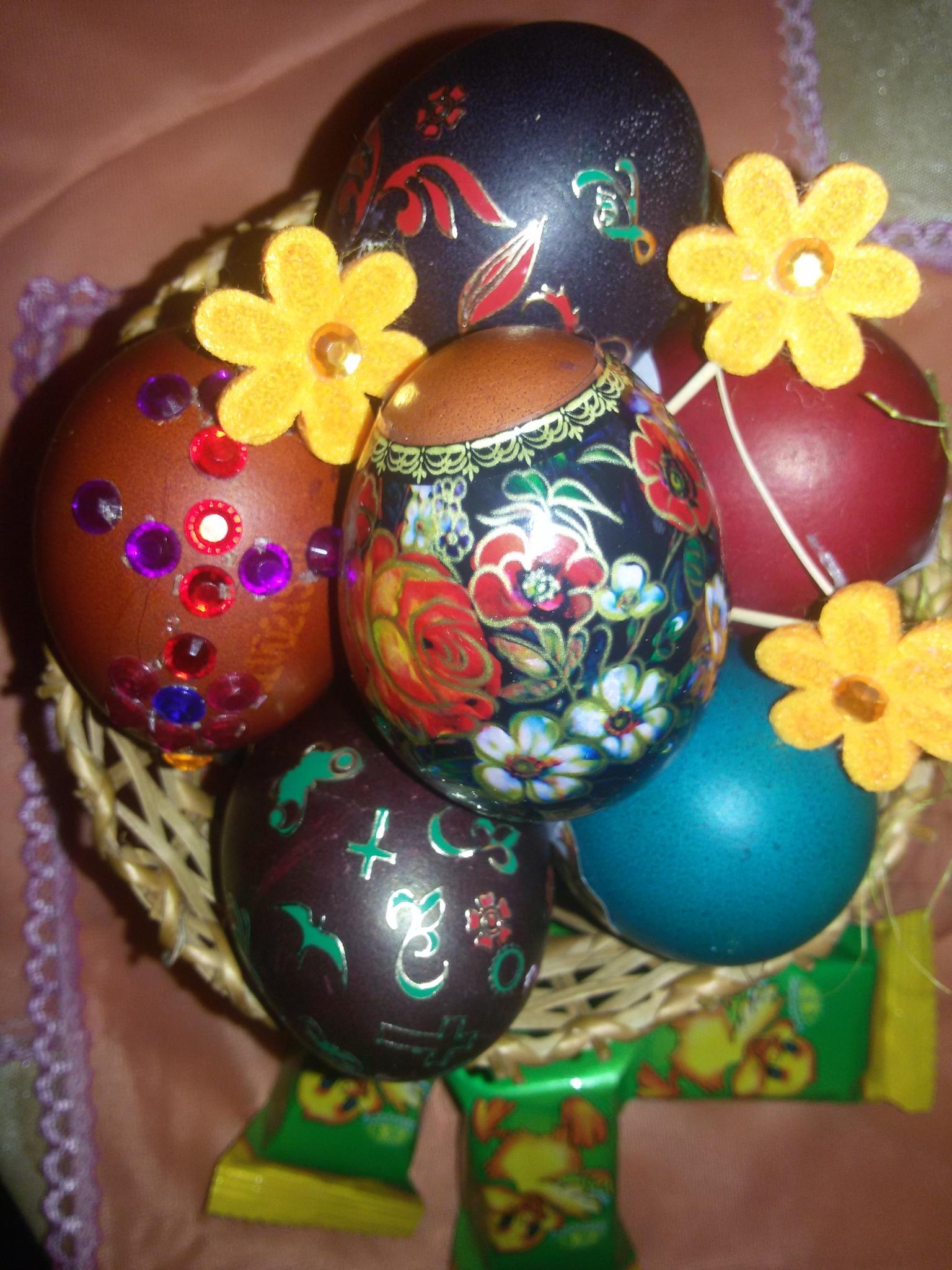 Easter eggs by Zita Užkuraitienė