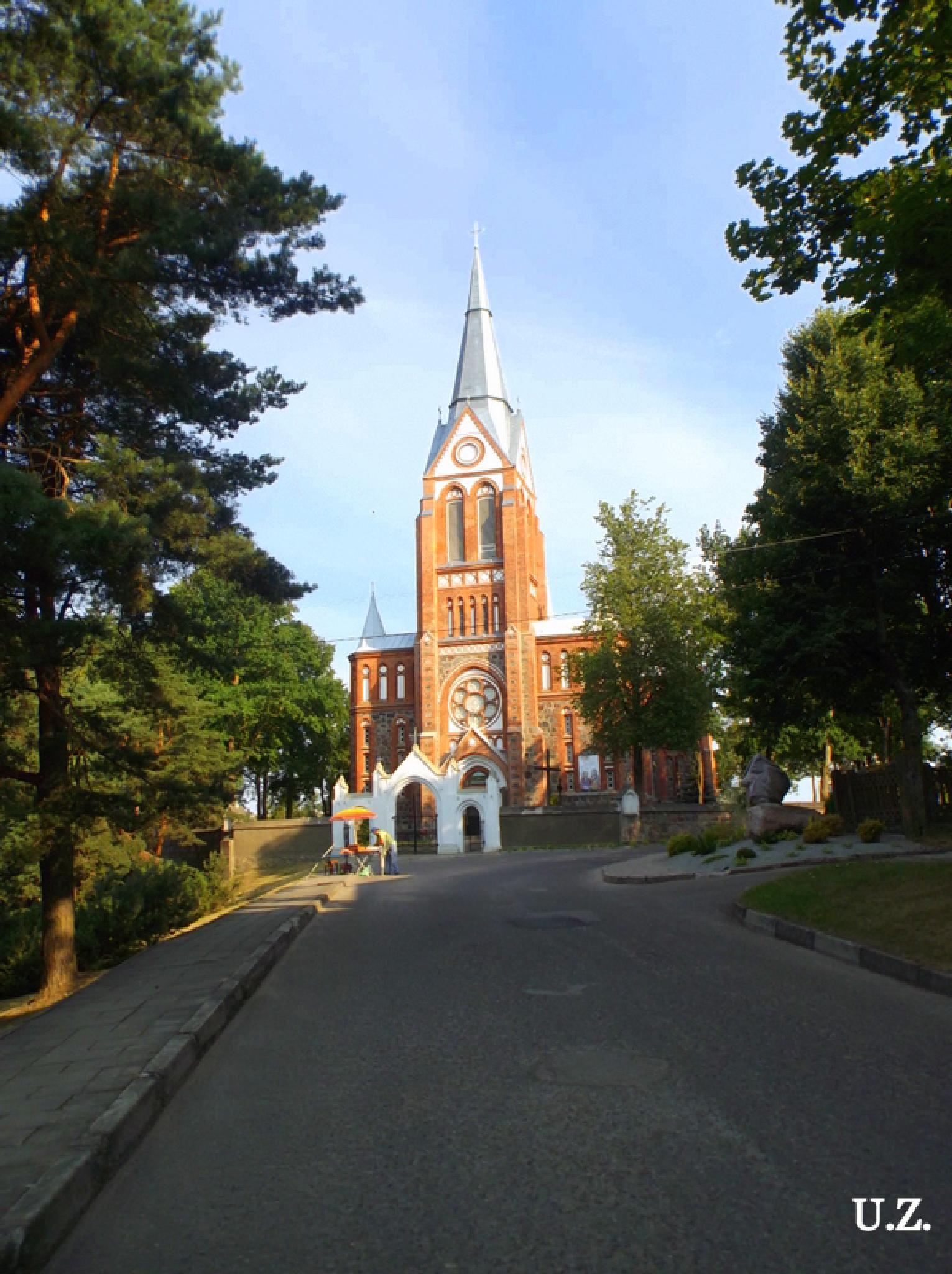 Church. by Zita Užkuraitienė