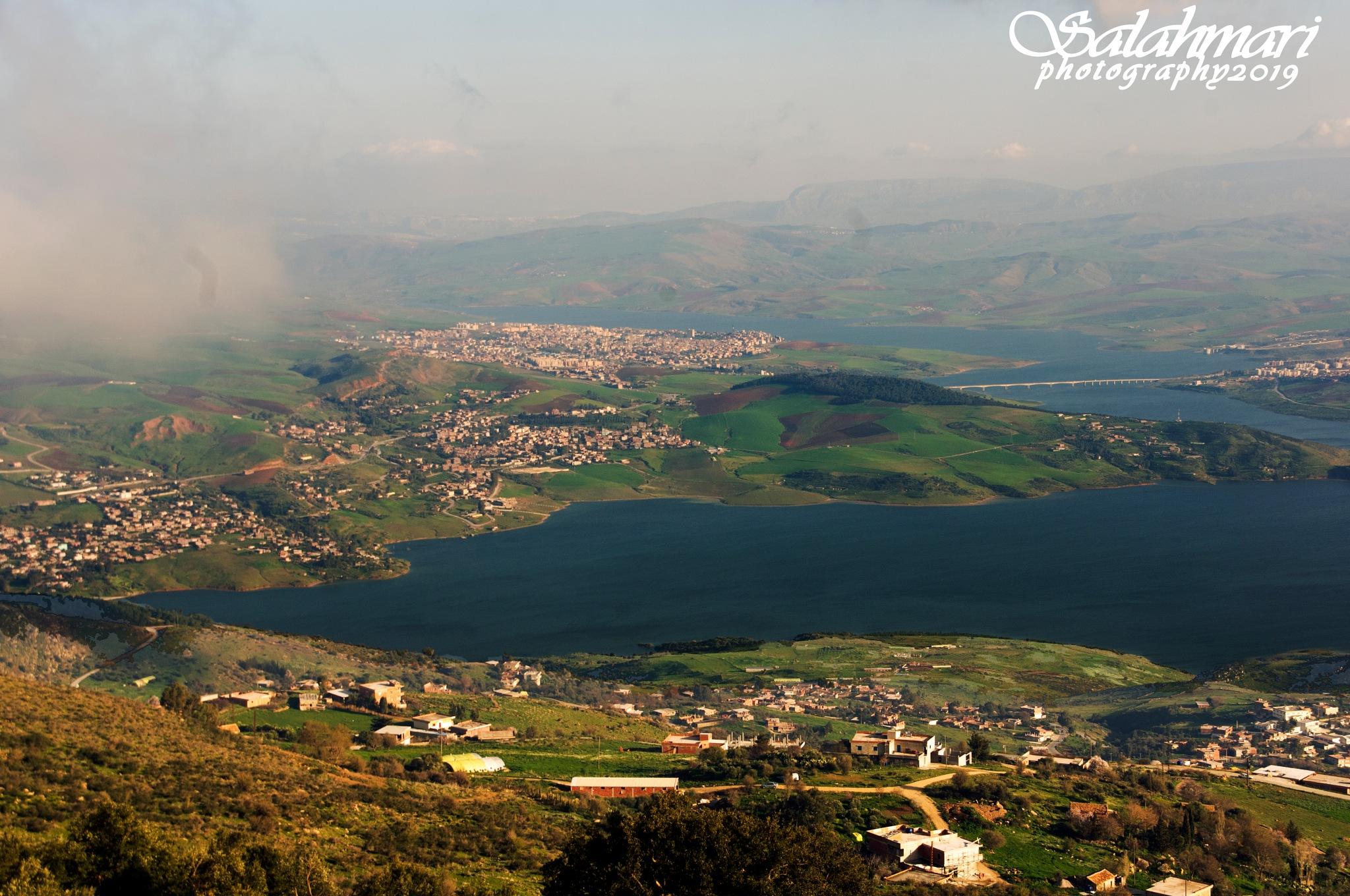 ben haroun's dam algeria by salah lahmari