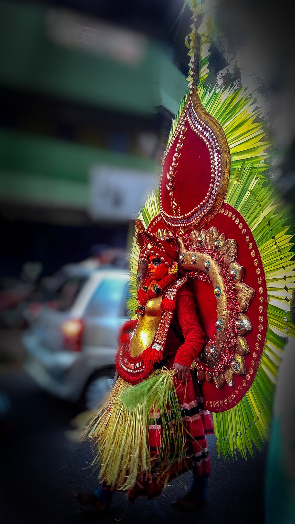 #treqditonalarts #India #keralam#temple#theyyam  by cam_lover