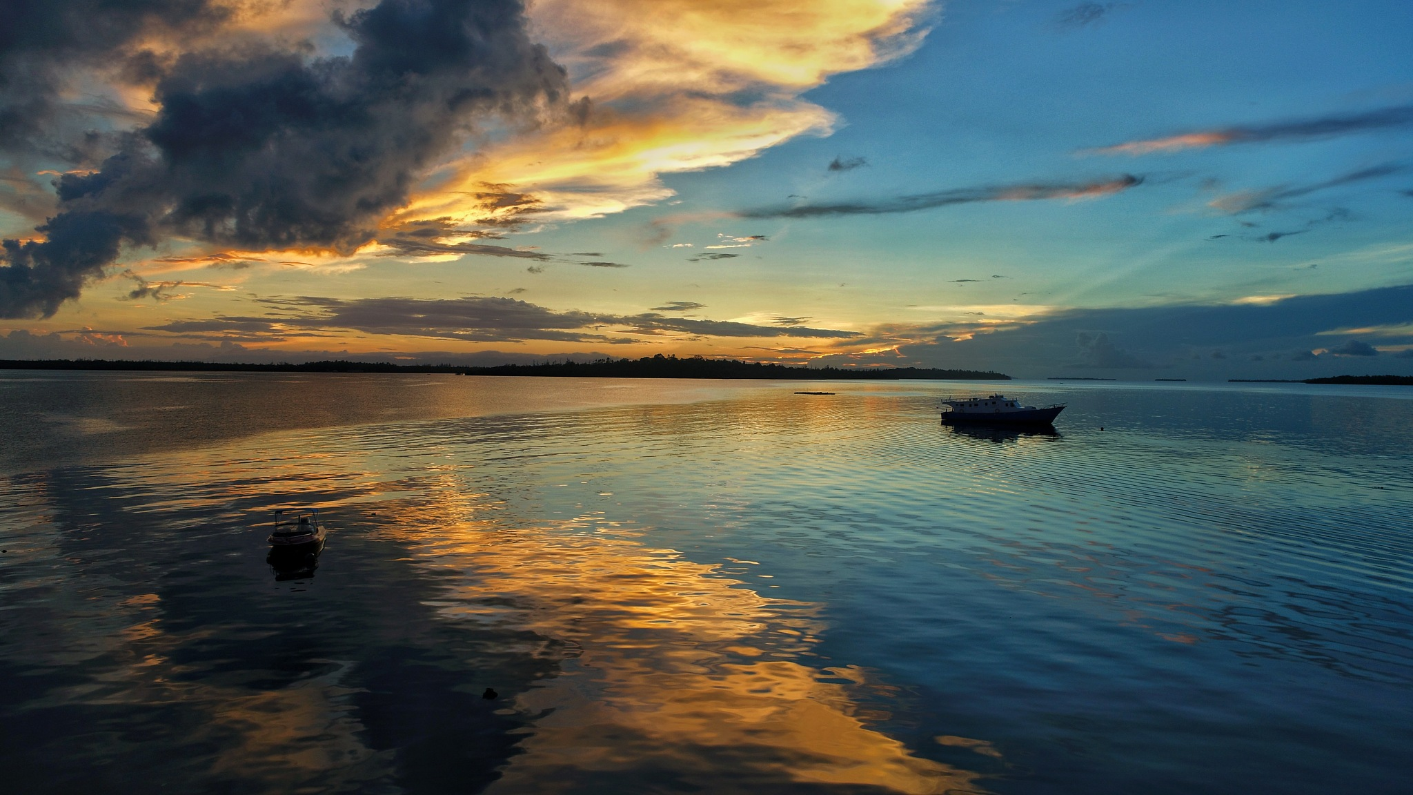 Sunset in Morotai by Rizky Arief Imanullah