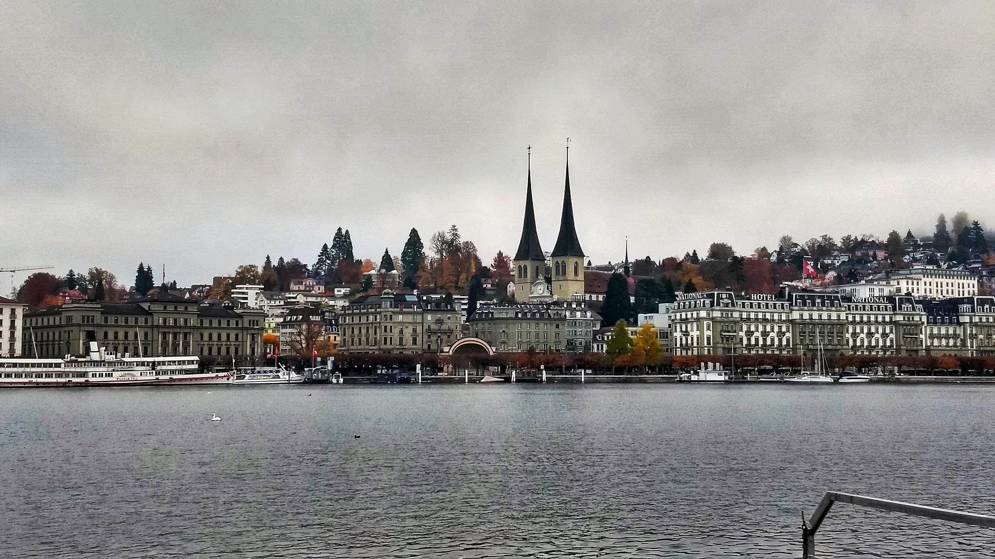 Cloudy day @ Luzern, Switzerland by Anusha Vasireddy