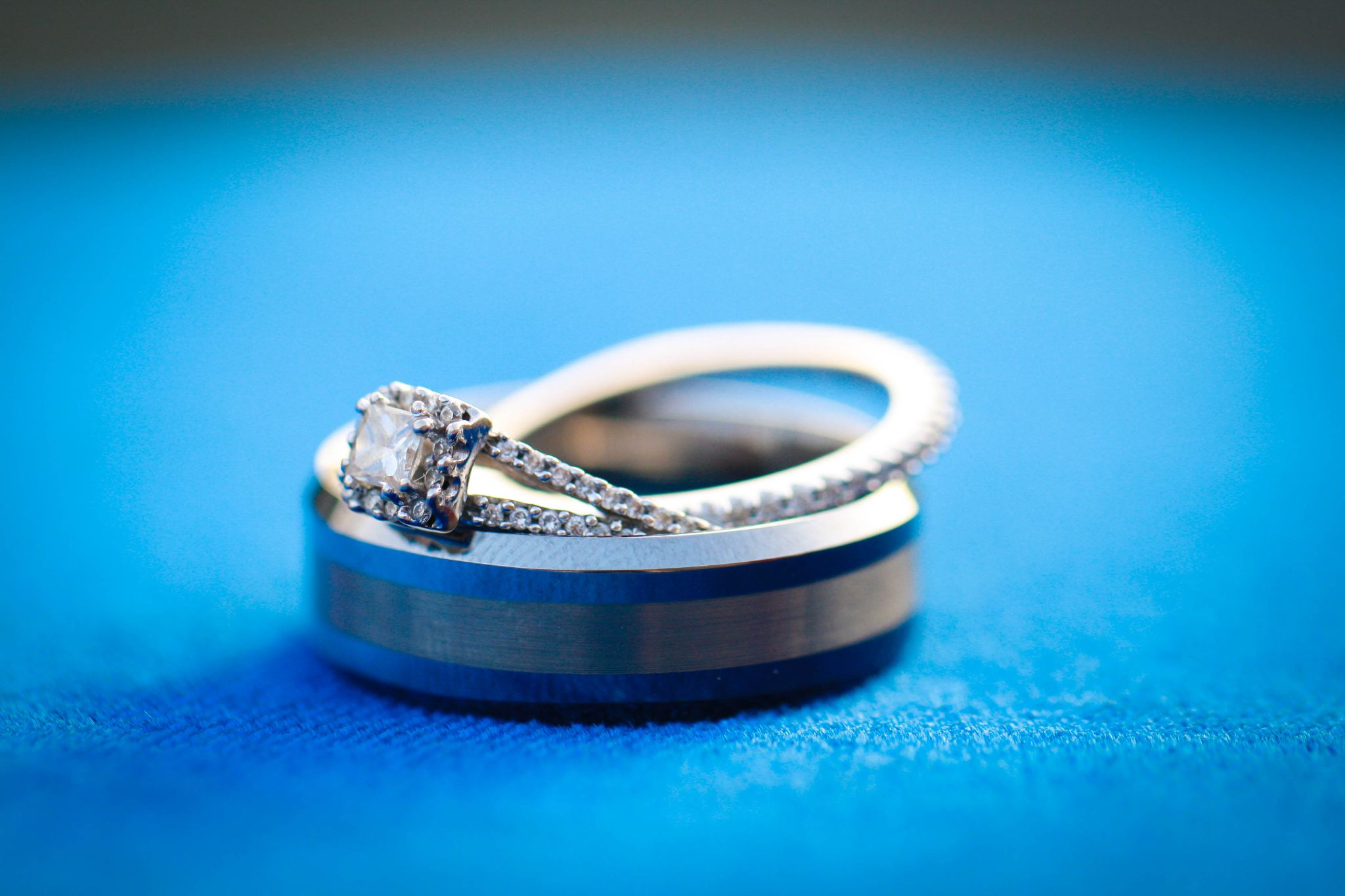 Wedding Rings by sabrinacharissaphoto
