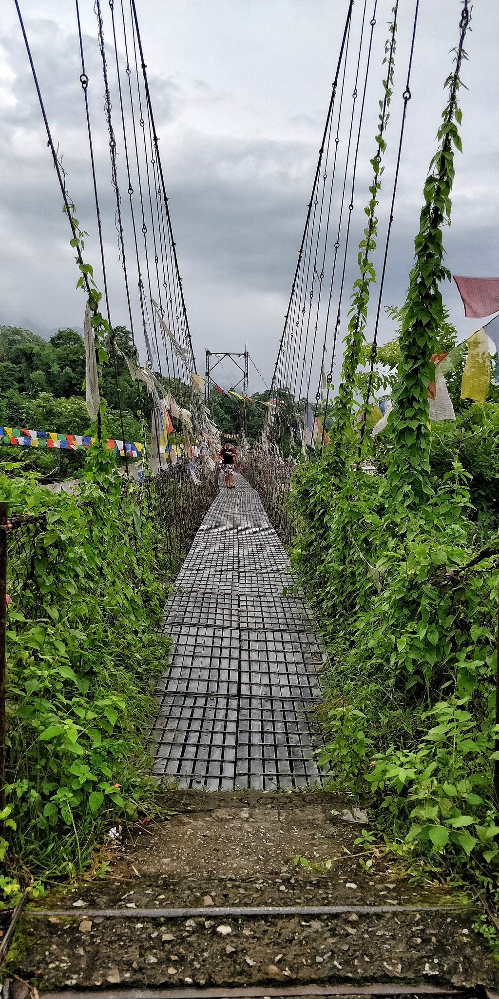 The hanging bridge by conversedaily