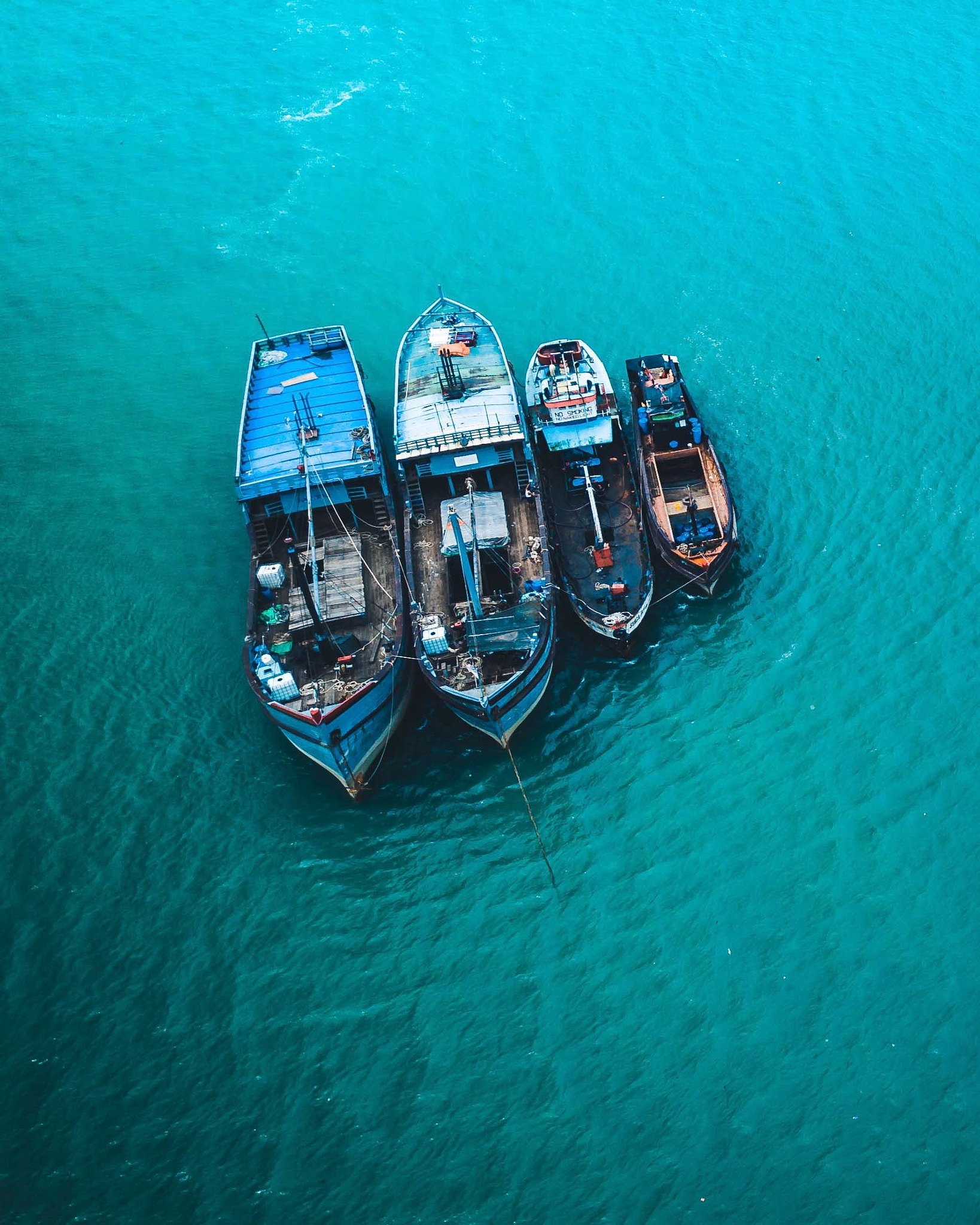 Boats from above by TheCreativeSeries