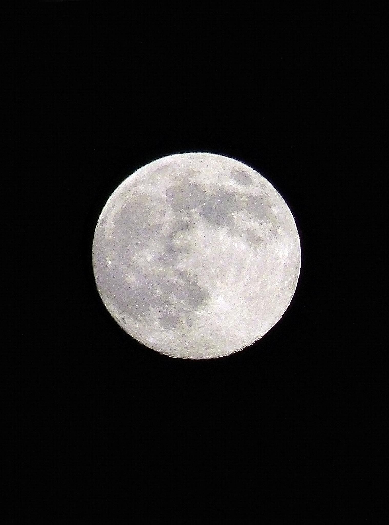 Yesterday's Full Moon by Lilla Ondok