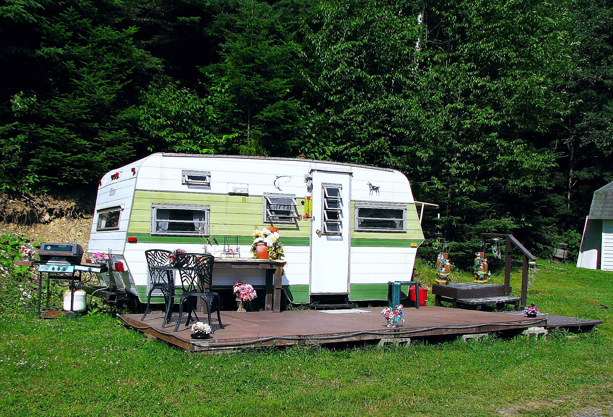 Antique caravan by Steven Joseph Arvay