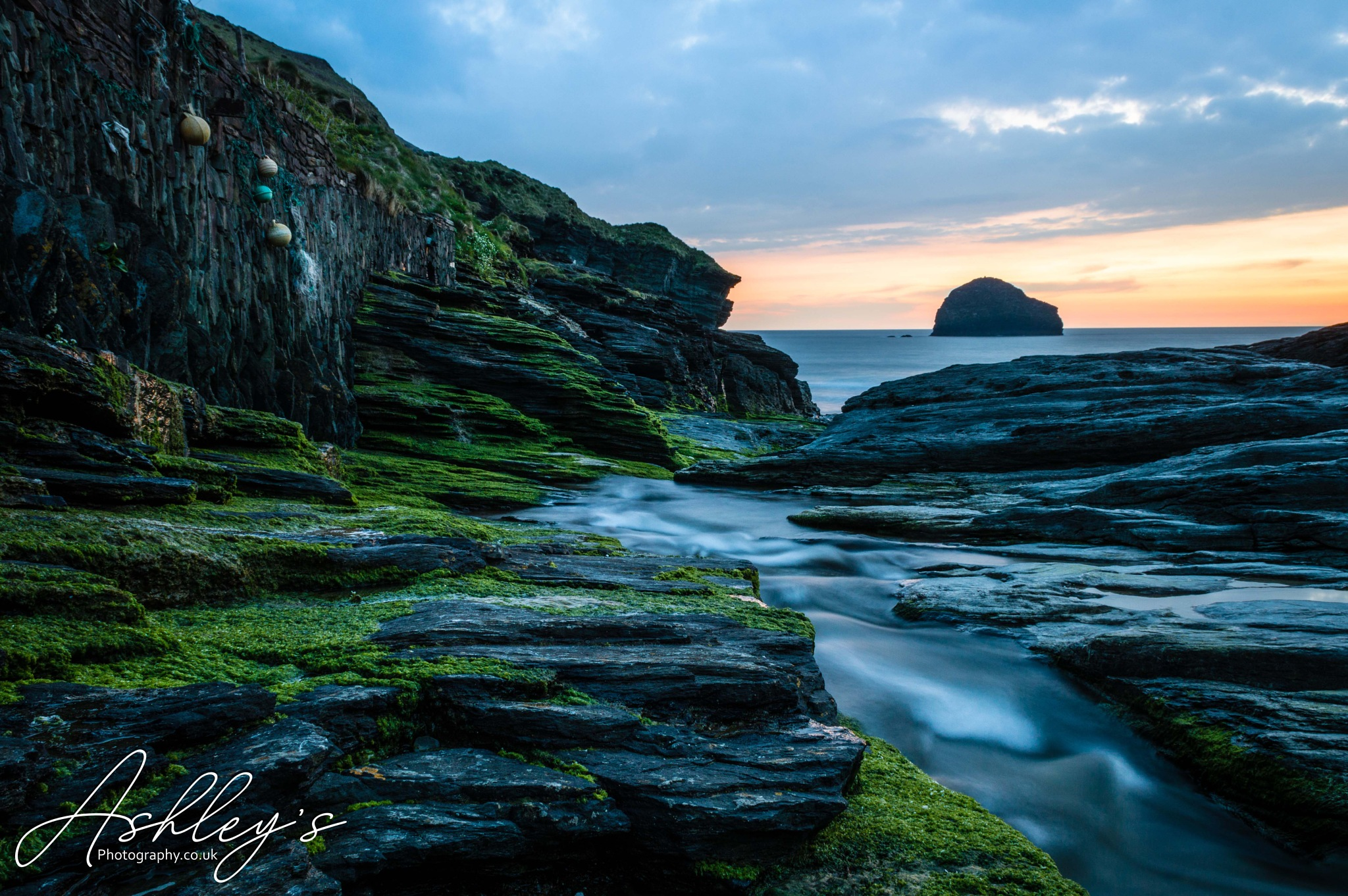 Trebarwith Strand, Cornwall by Ashley's Photography