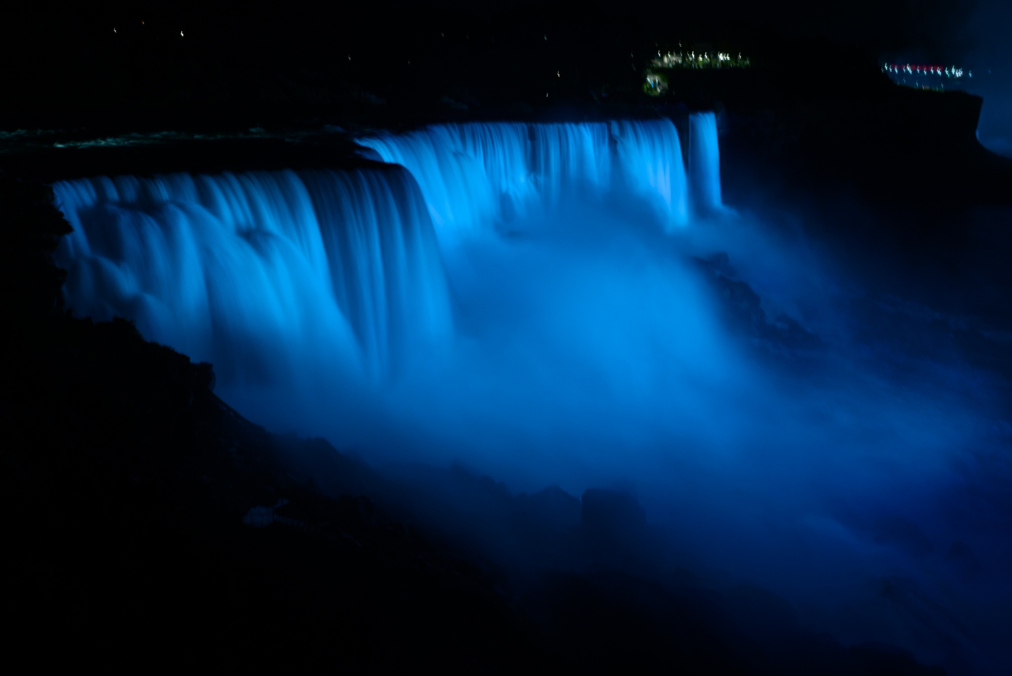 Niagara Floodlit by Keith Perry